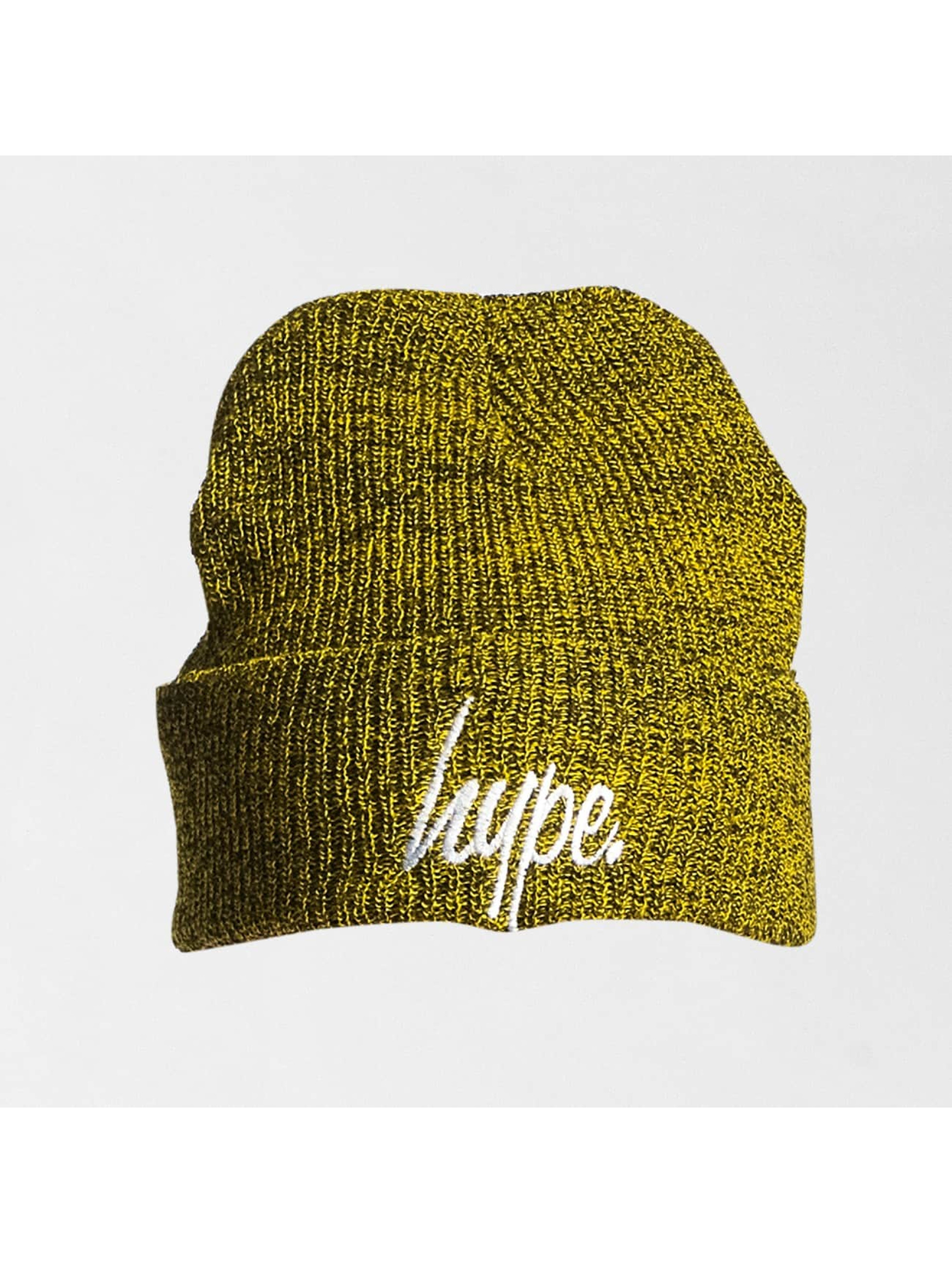 HYPE Beanie Script amarillo