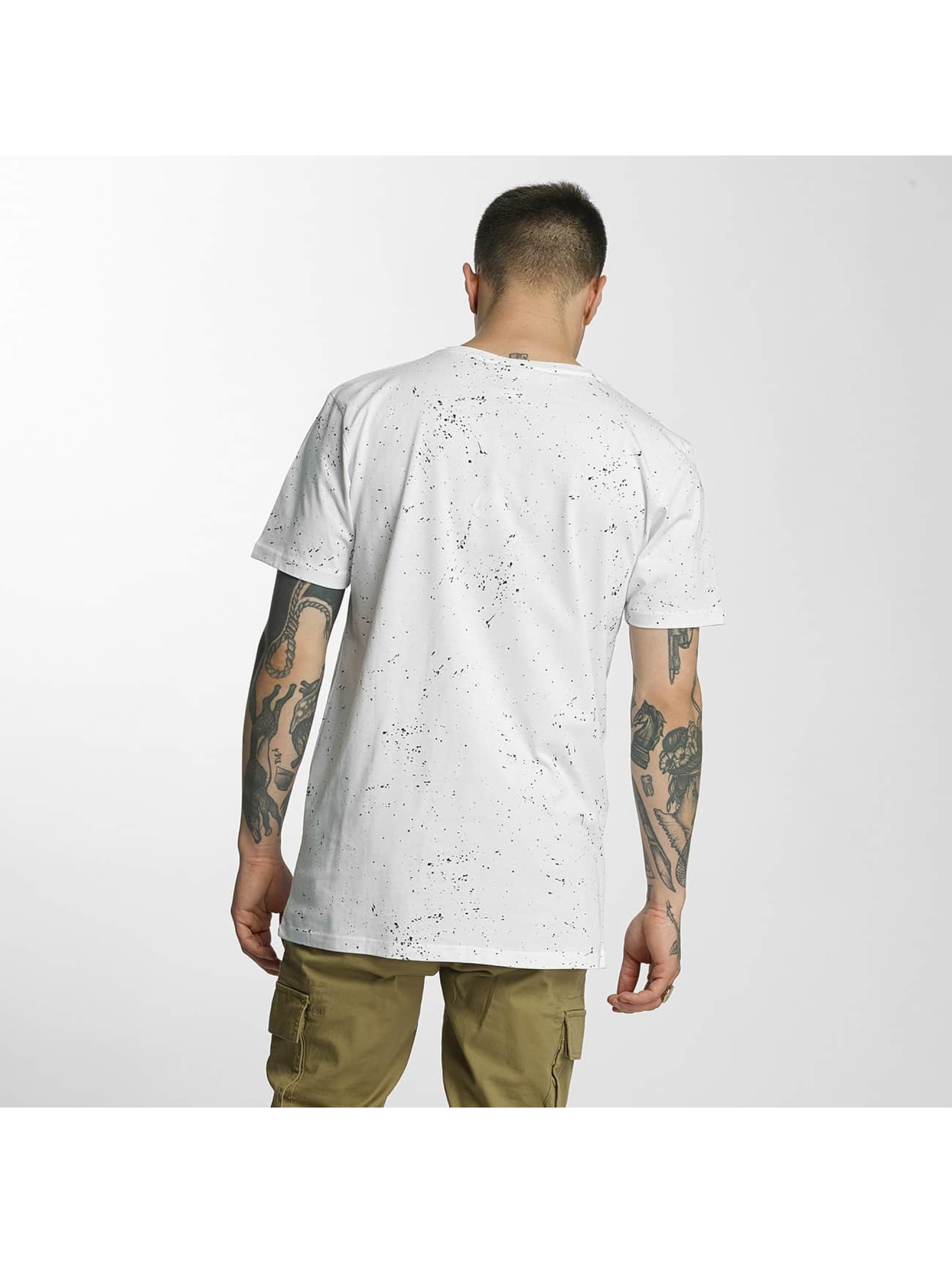 HYPE Camiseta Aop Speckle blanco