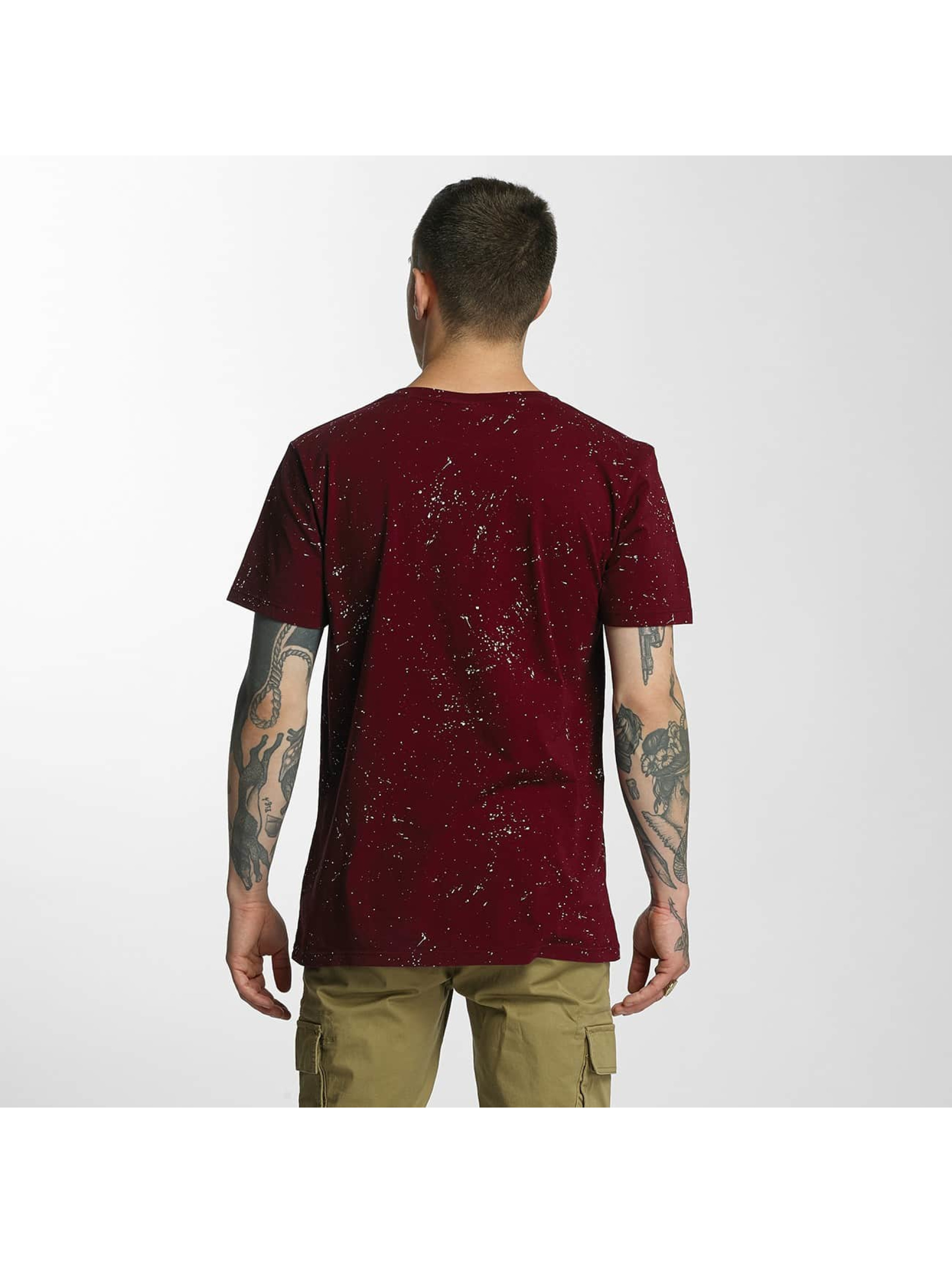 HYPE Camiseta Aop Speckle rojo