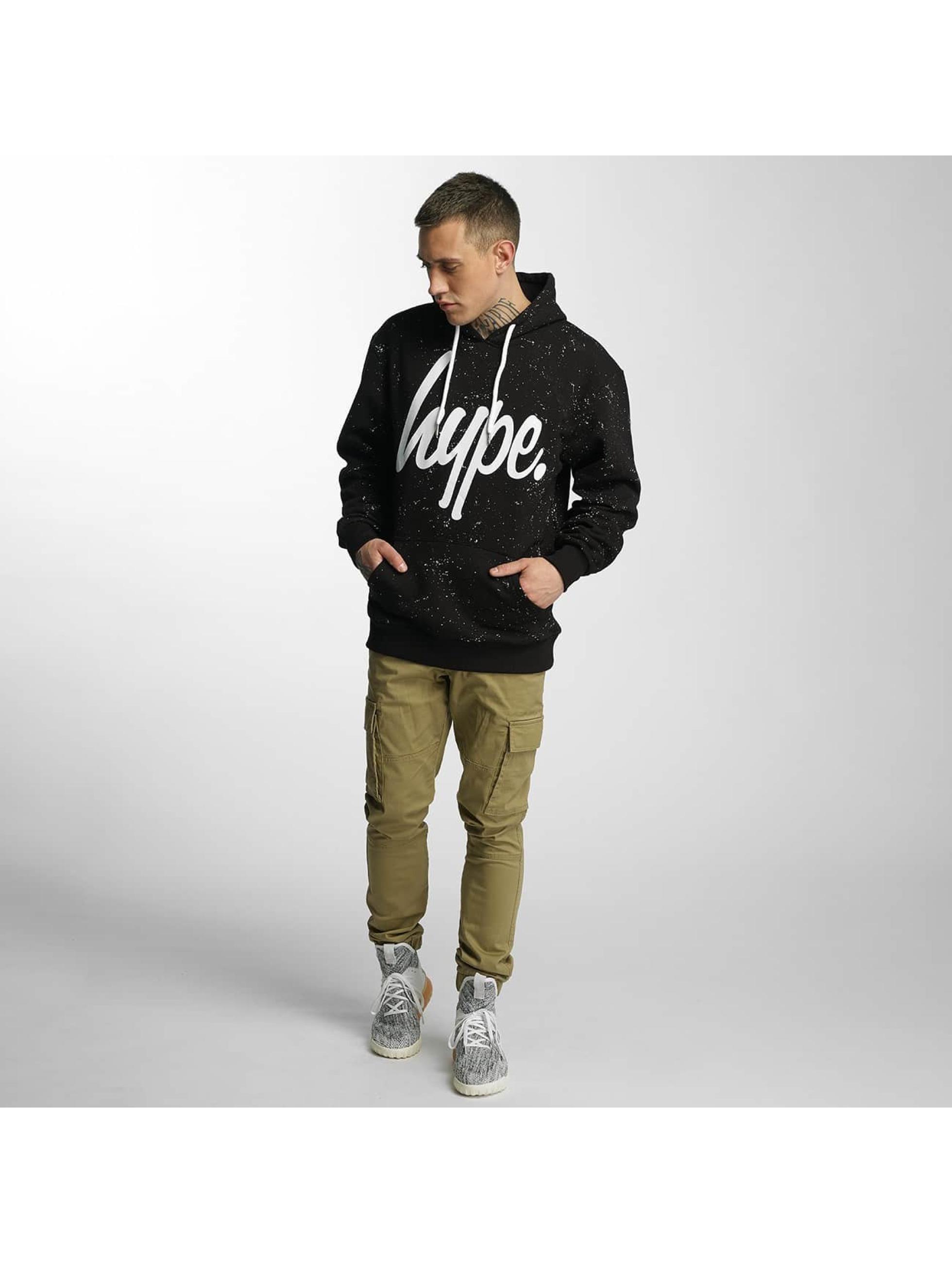 HYPE Hoodie Aop Speckle black