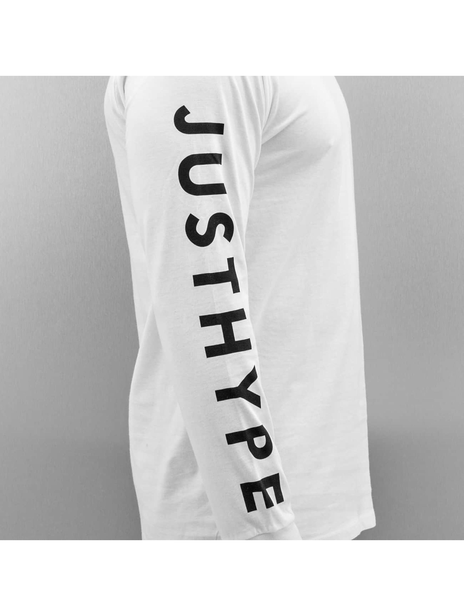 HYPE Pitkähihaiset paidat Justhype valkoinen
