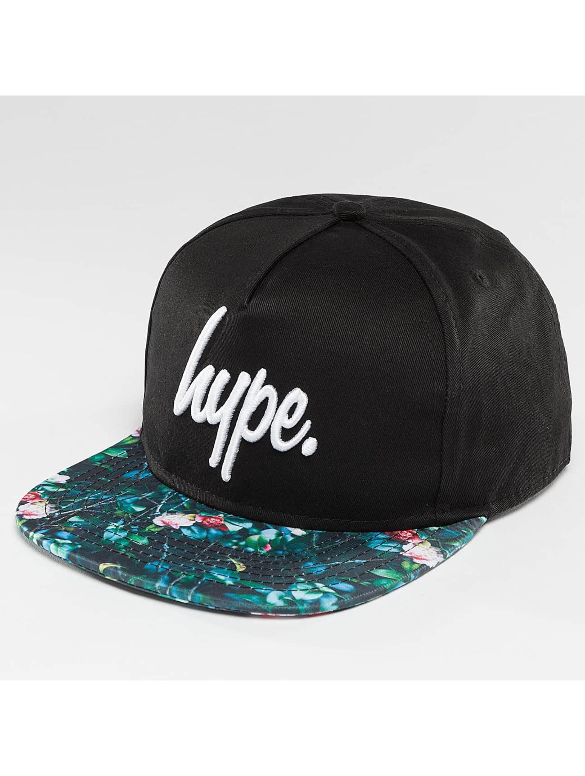 HYPE Snapbackkeps Garden Leaf svart