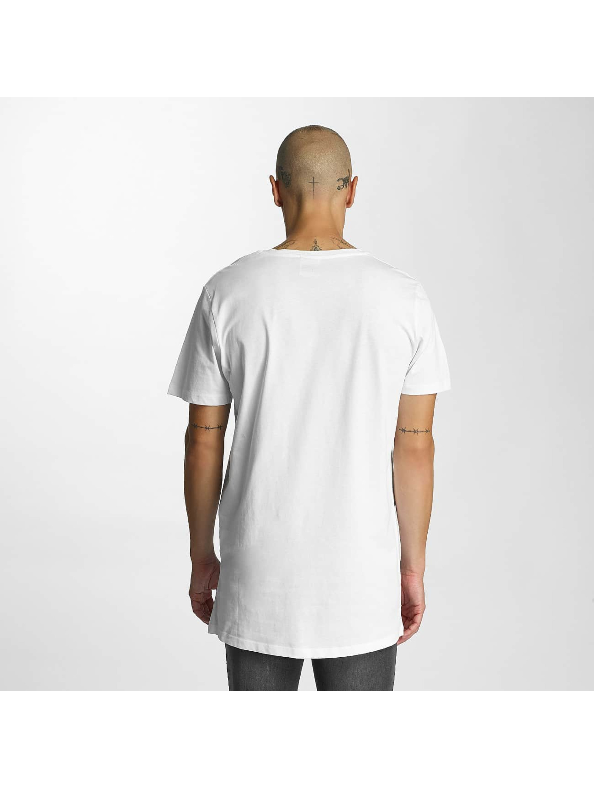 HYPE T-Shirt Reef Dished blanc