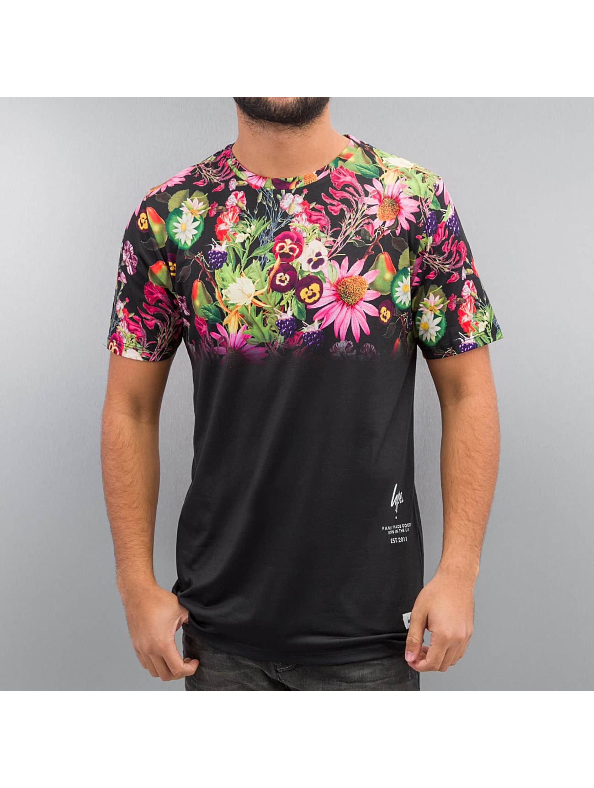 T-Shirt Friut Floral Fade in bunt
