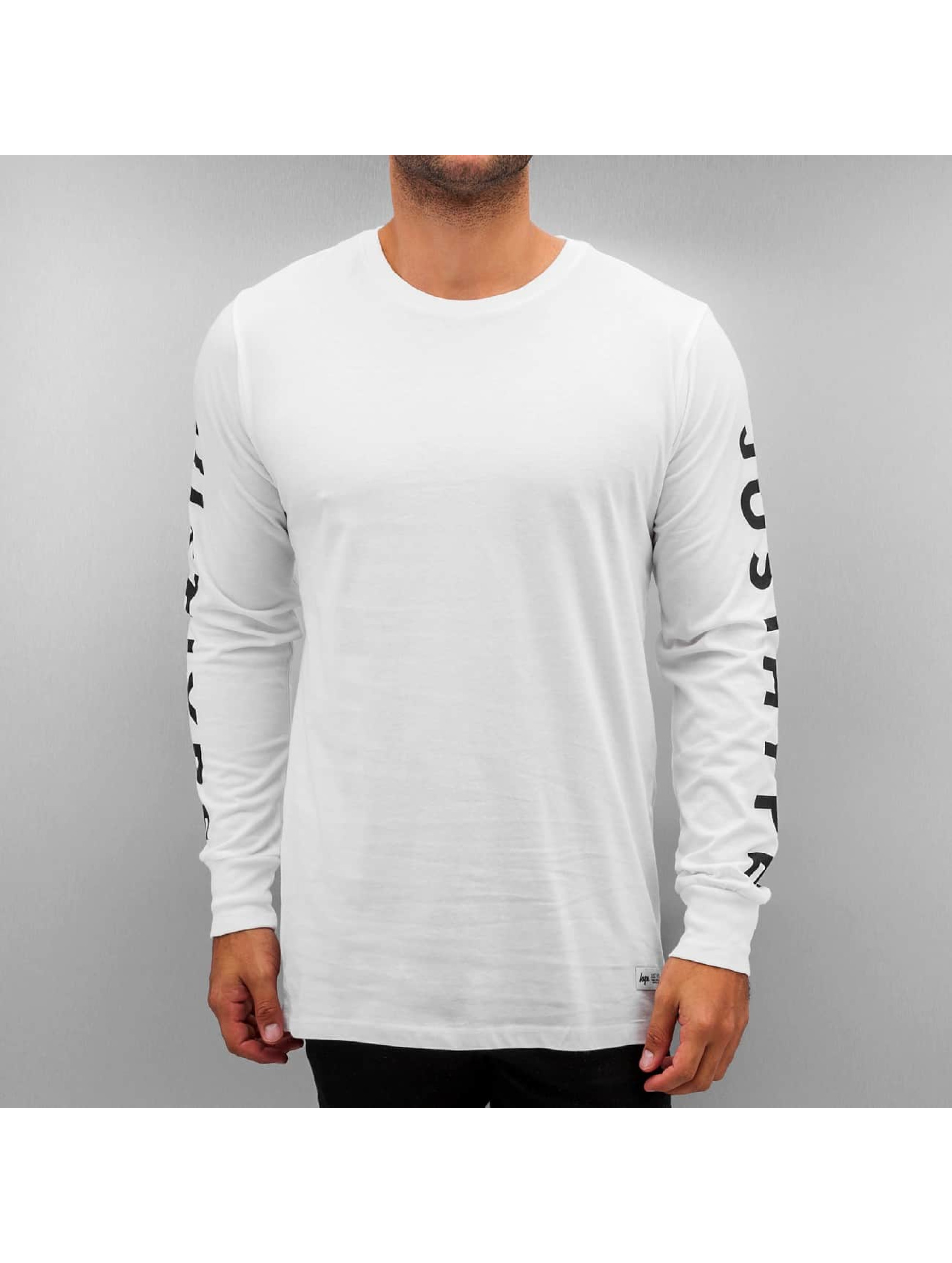 HYPE T-Shirt manches longues Justhype blanc