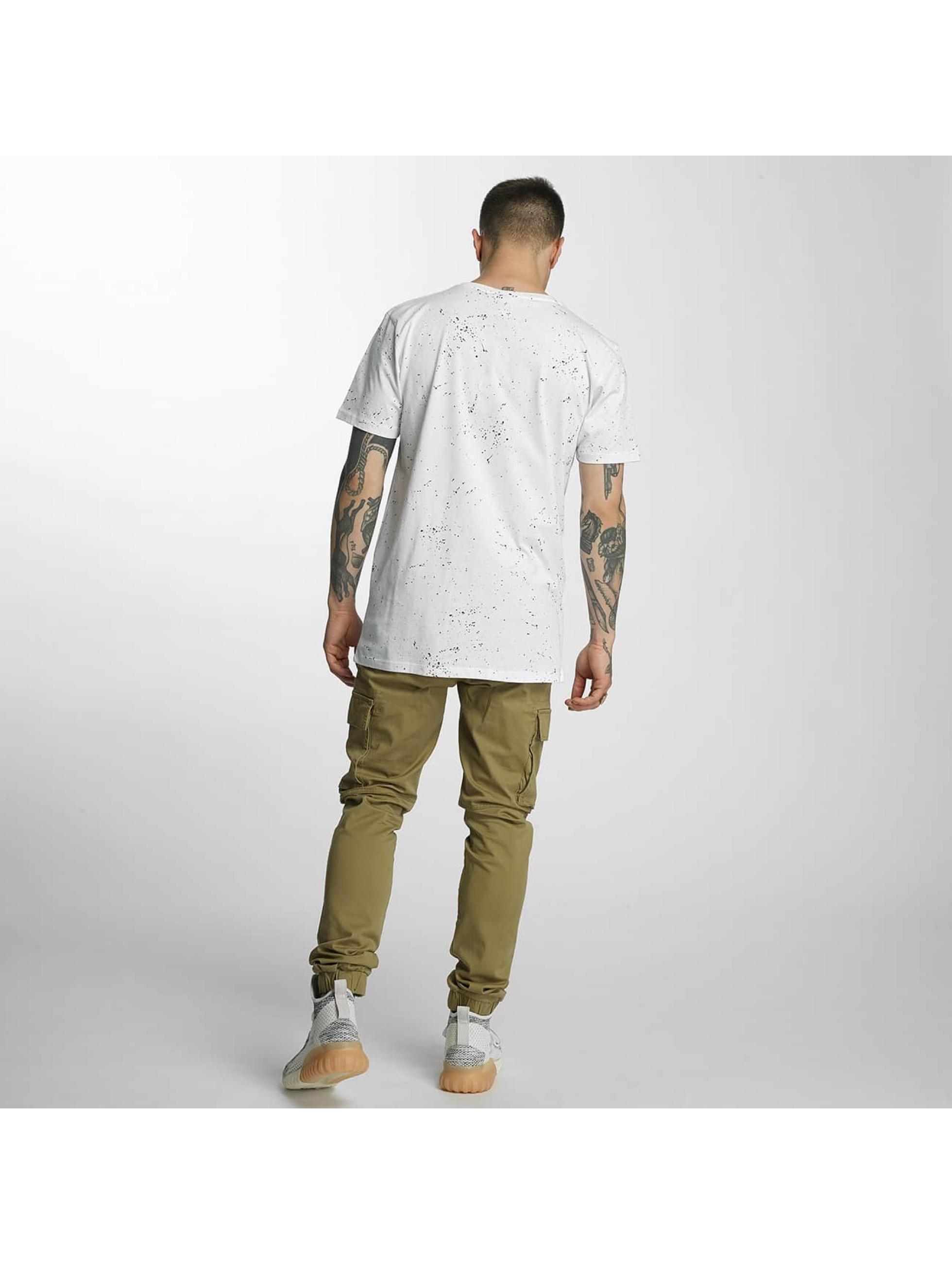HYPE T-Shirt Aop Speckle weiß