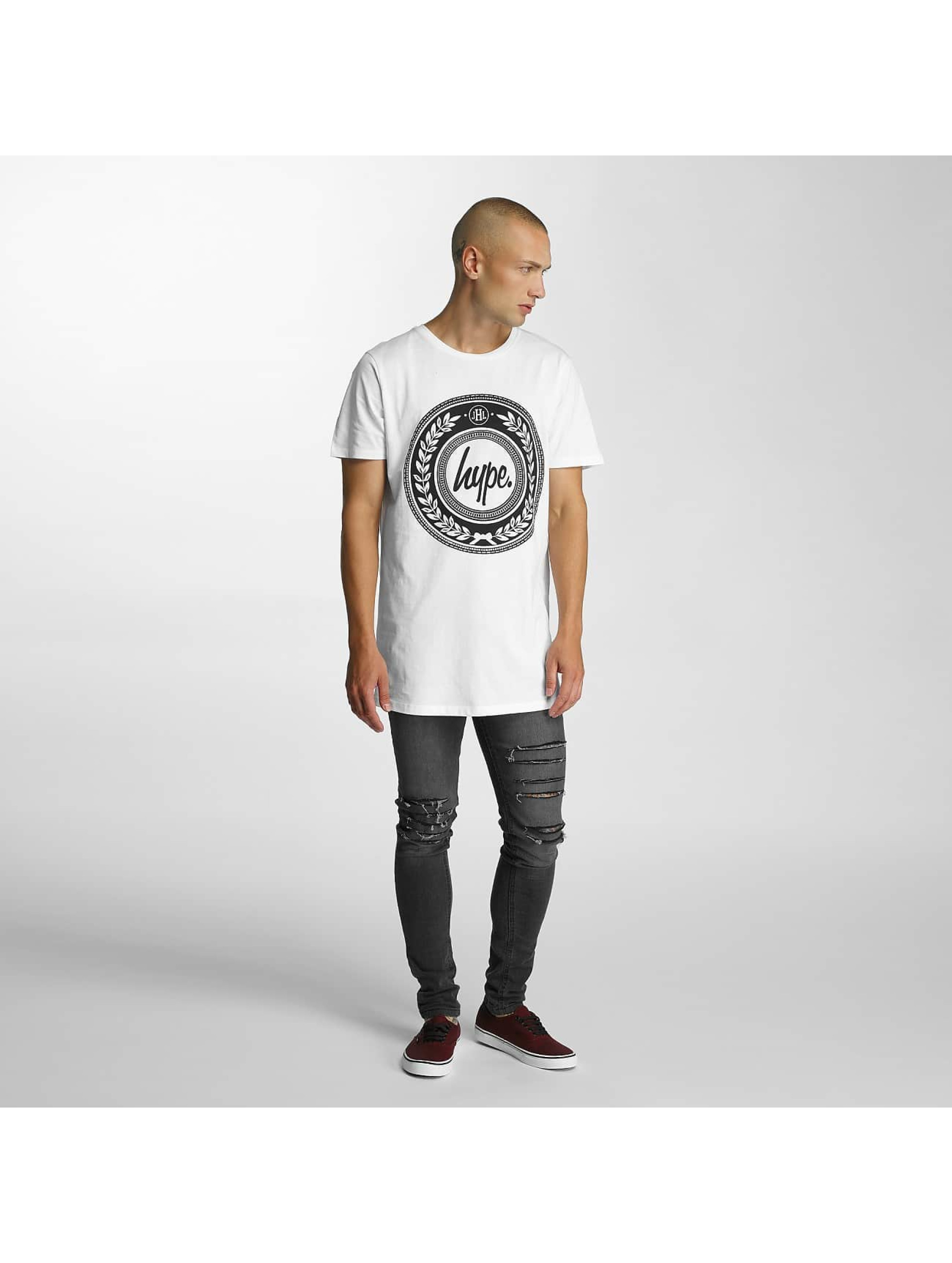 HYPE T-Shirt Reef Dished weiß