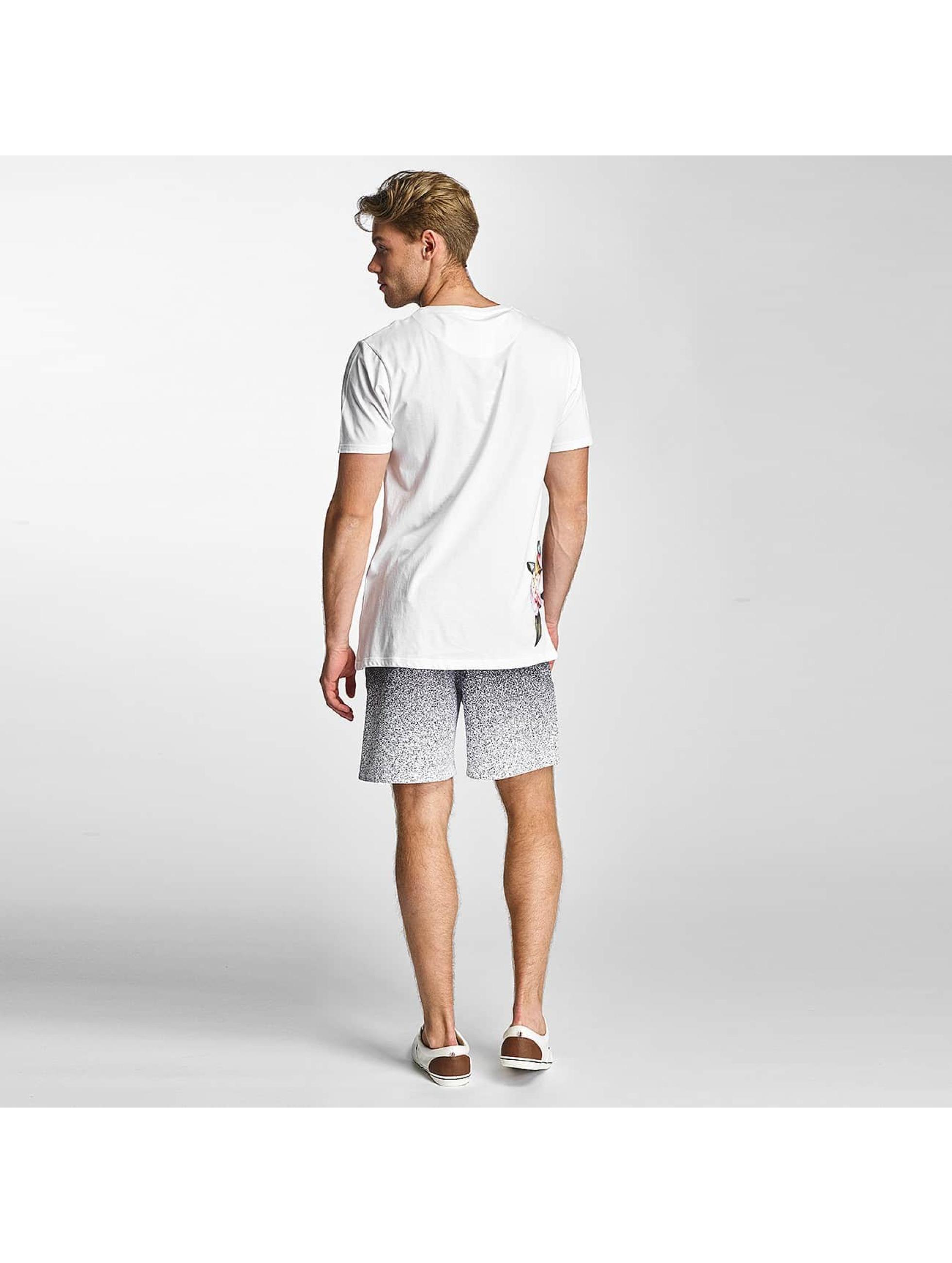 HYPE T-shirts Floral Side hvid