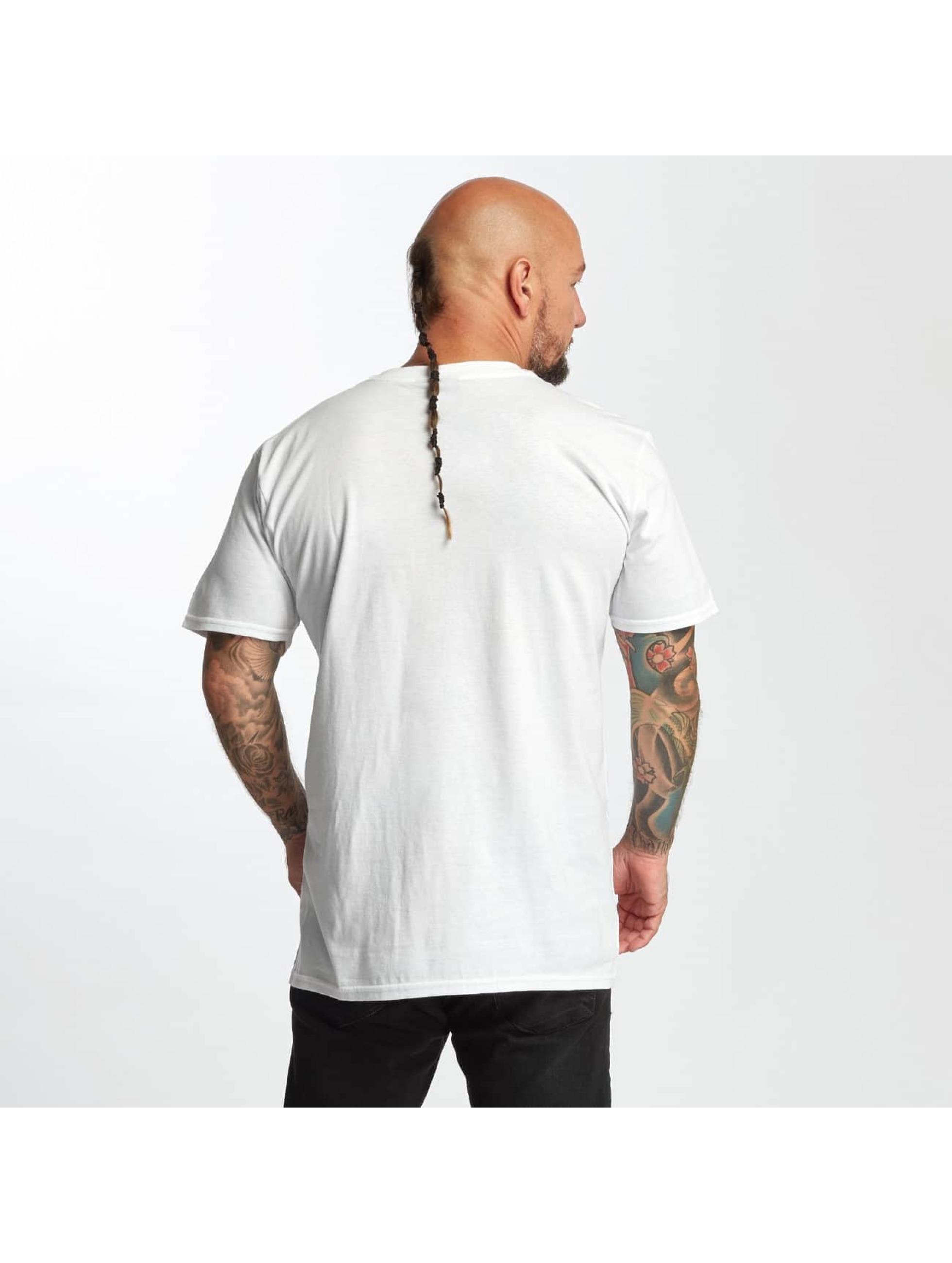 I Love Tattoo T-shirt City Of Ink bianco