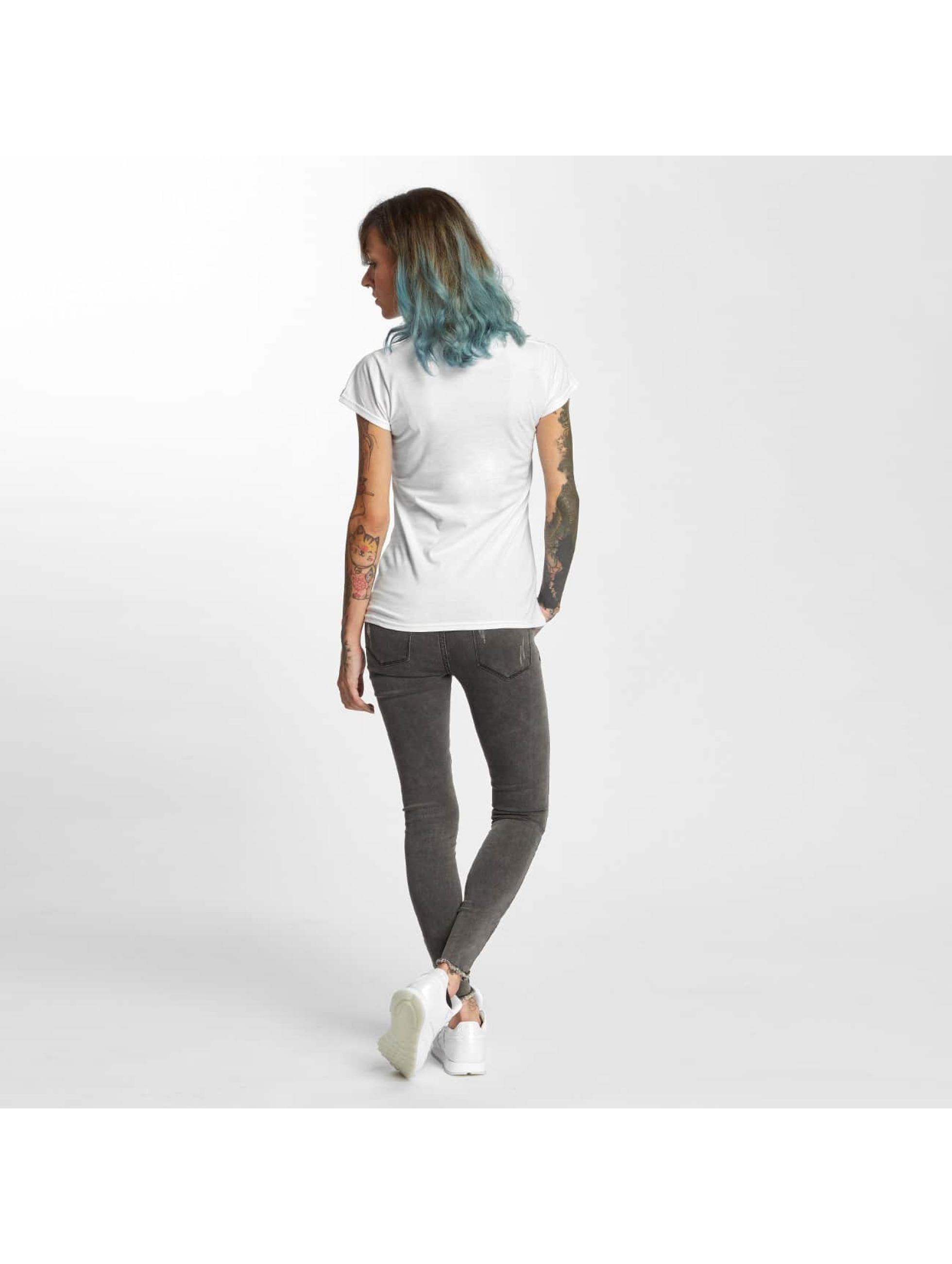 I Love Tattoo T-shirt Anker bianco
