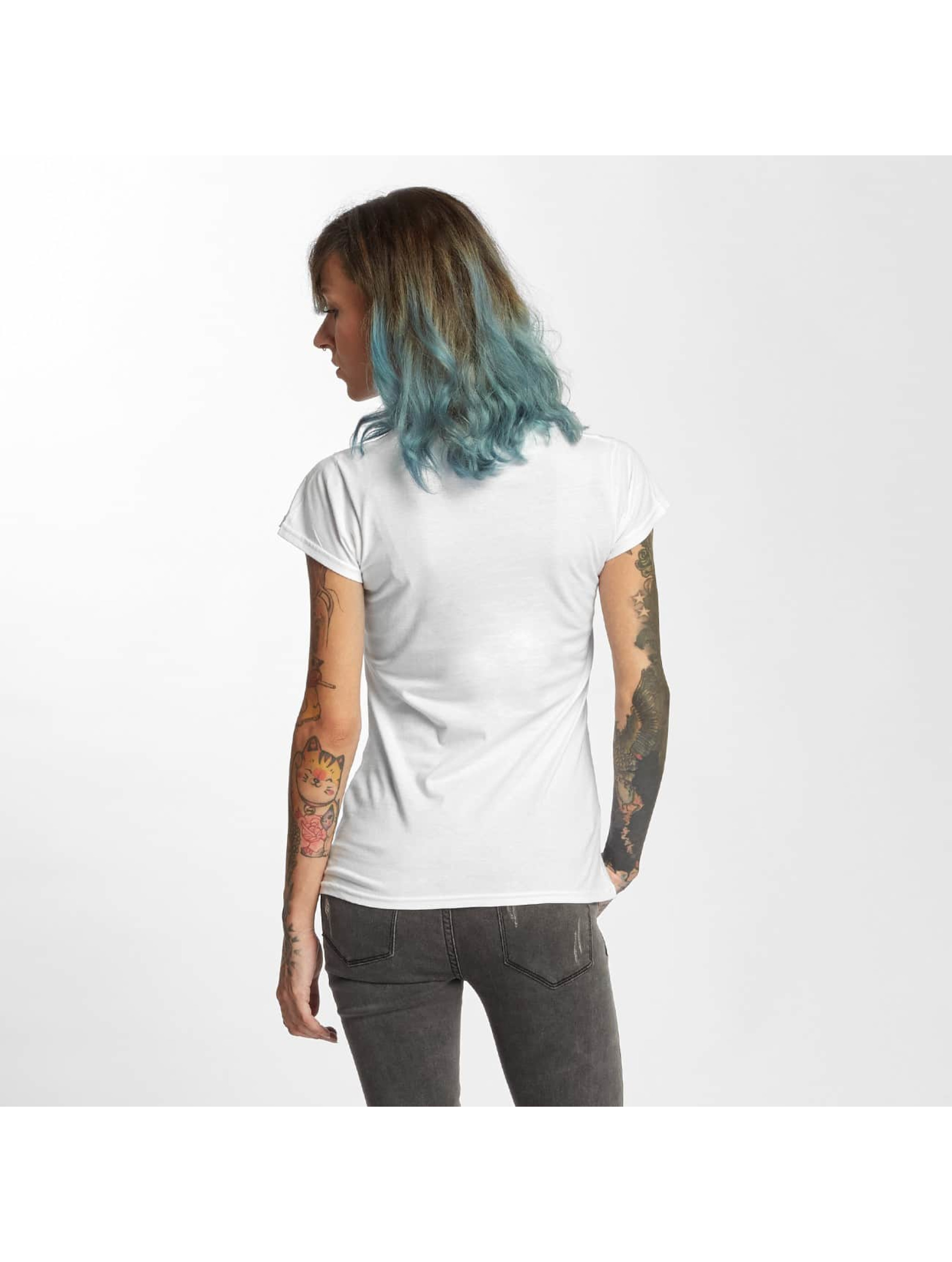 I Love Tattoo T-Shirt Anker blanc