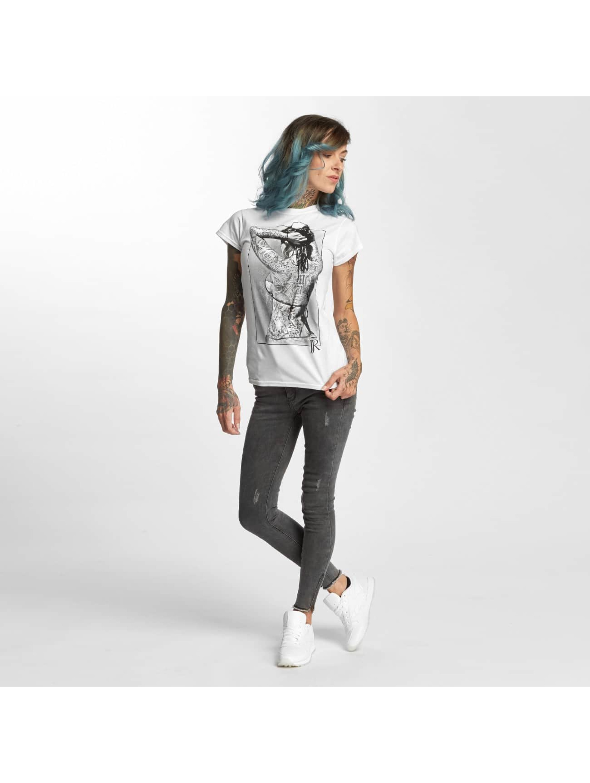 I Love Tattoo T-Shirt JJR blanc