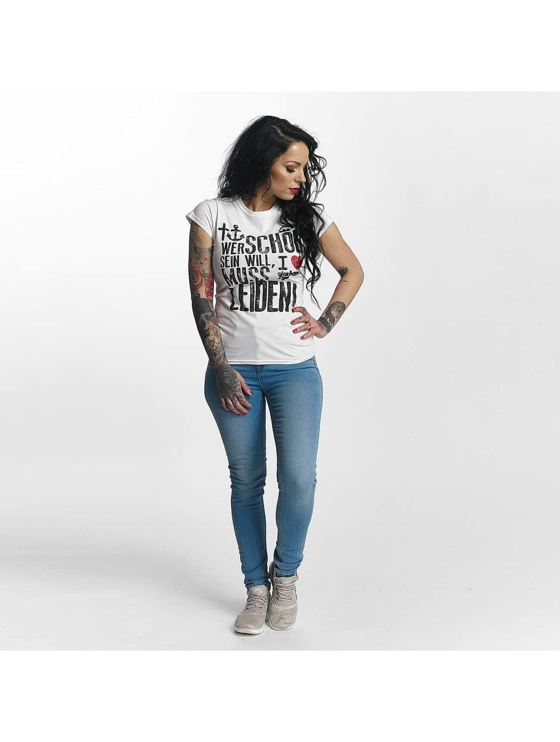 I Love Tattoo T-Shirt WSSWML blanc