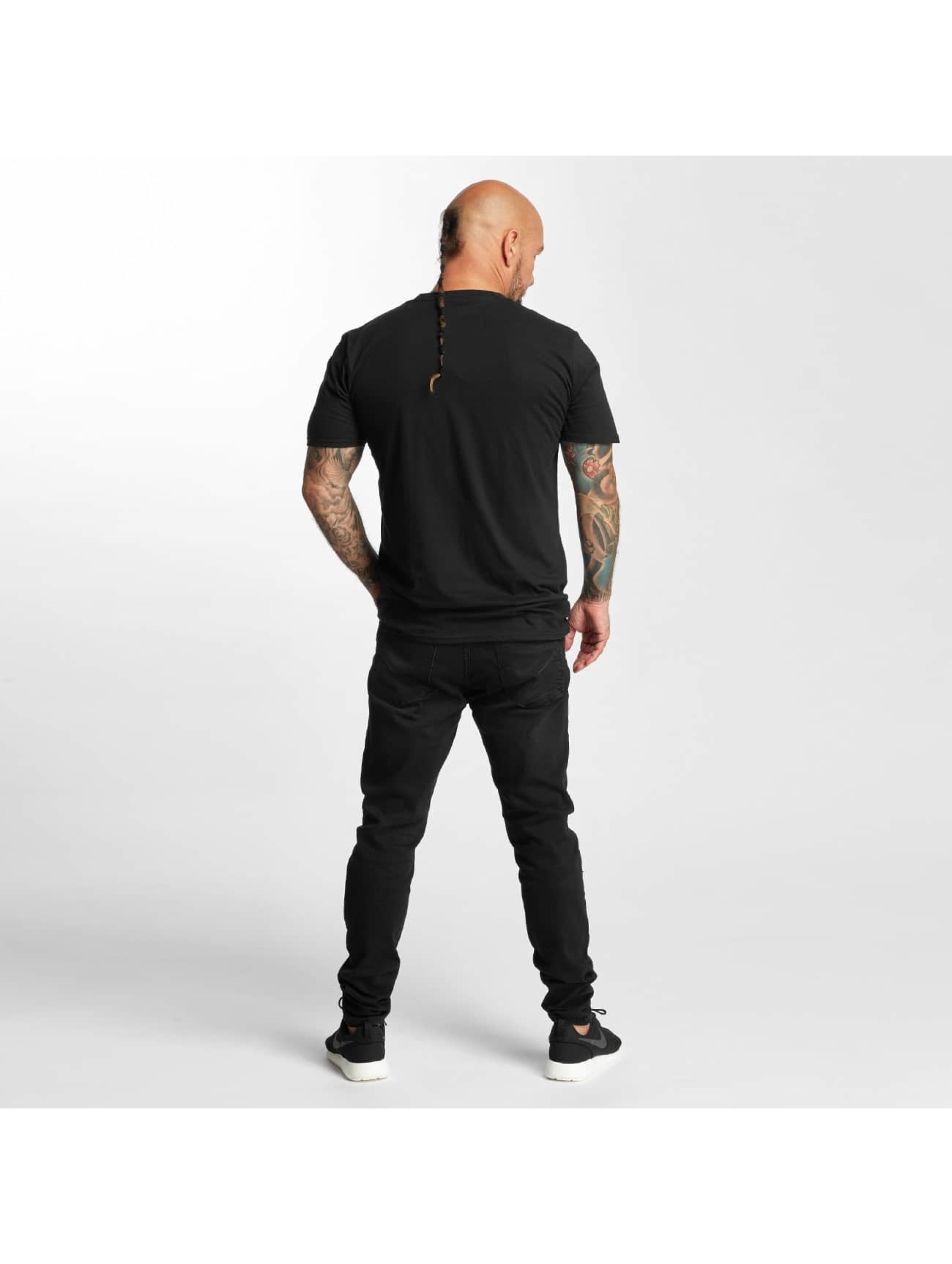 I Love Tattoo T-shirt Anker nero