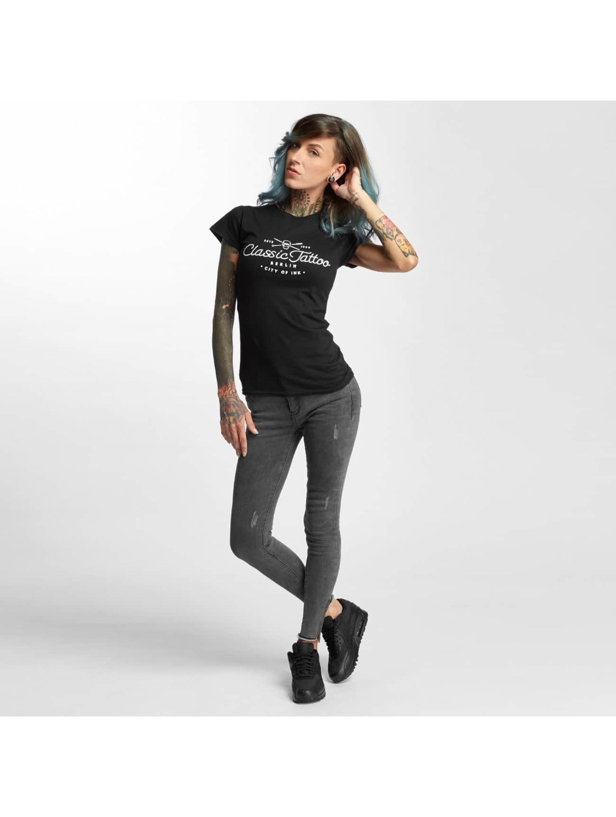 I Love Tattoo T-shirt City Of Ink nero