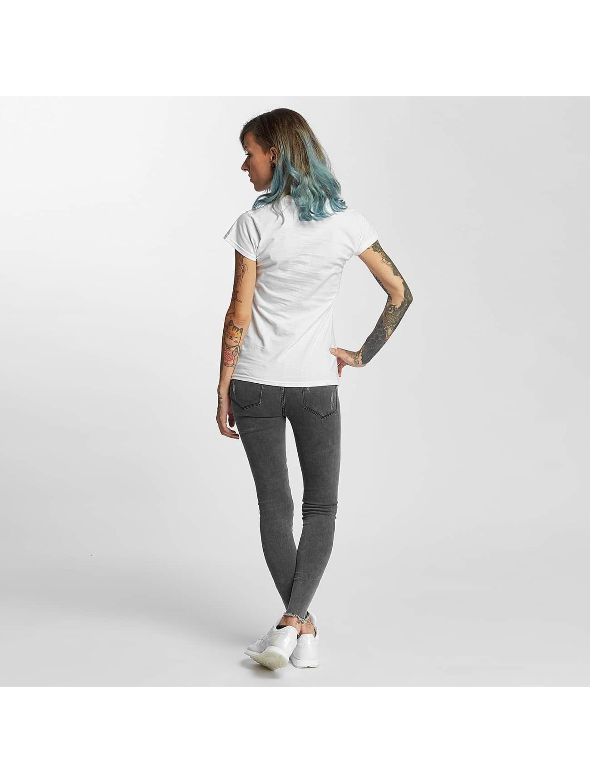 I Love Tattoo T-skjorter City Of Ink hvit