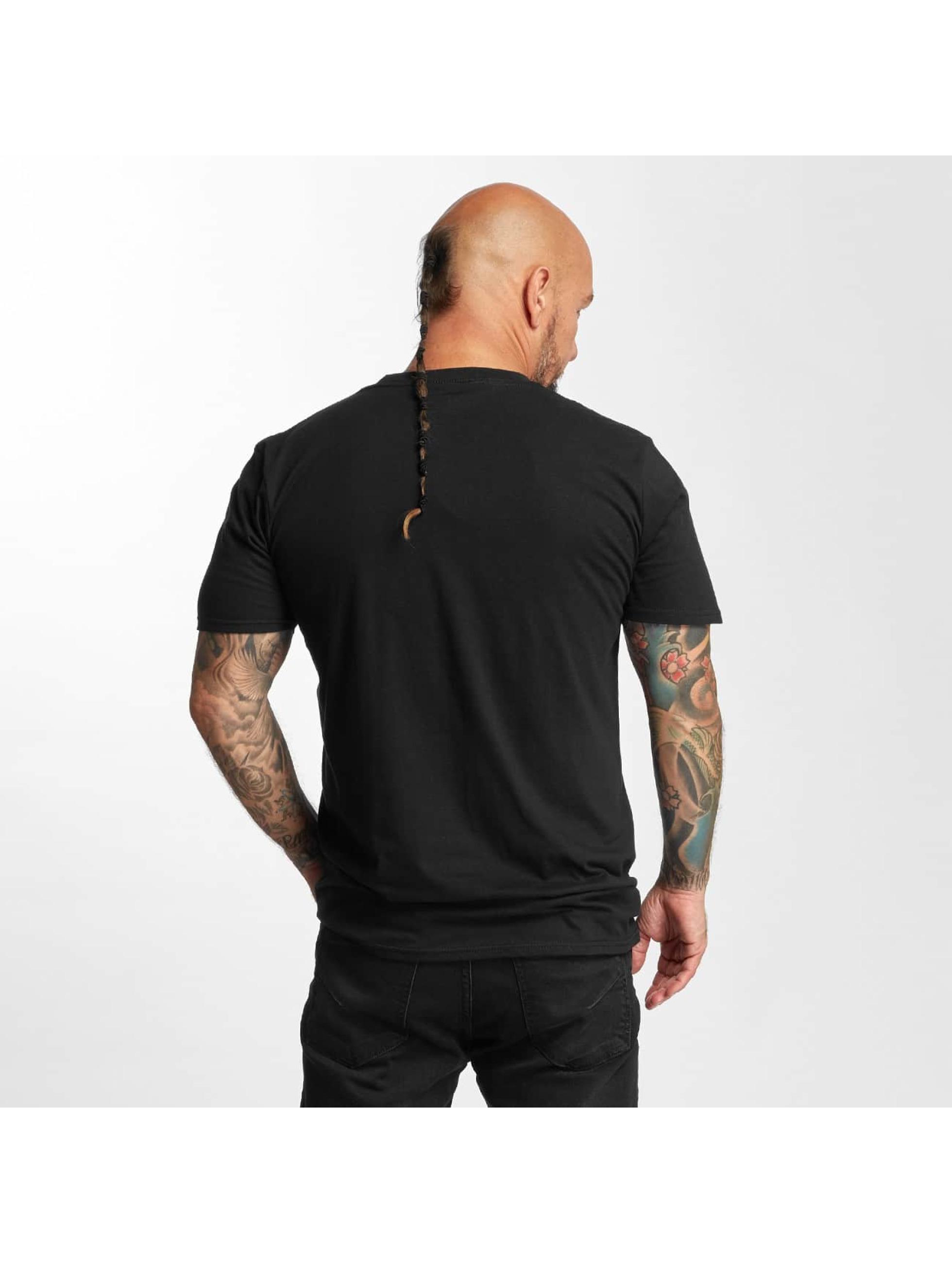 I Love Tattoo T-skjorter Anker svart