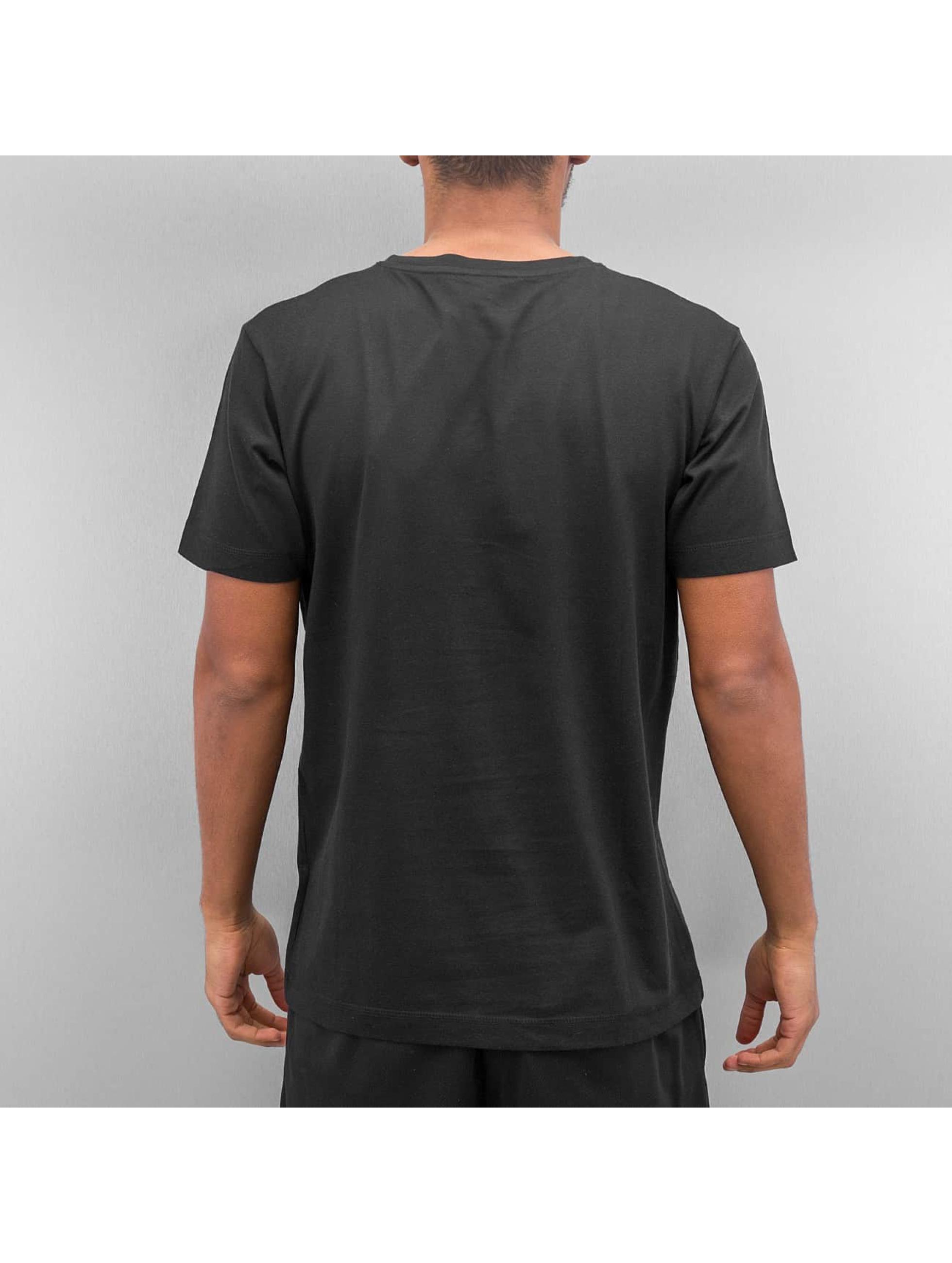 Ichiban T-Shirt Floral Uzi schwarz