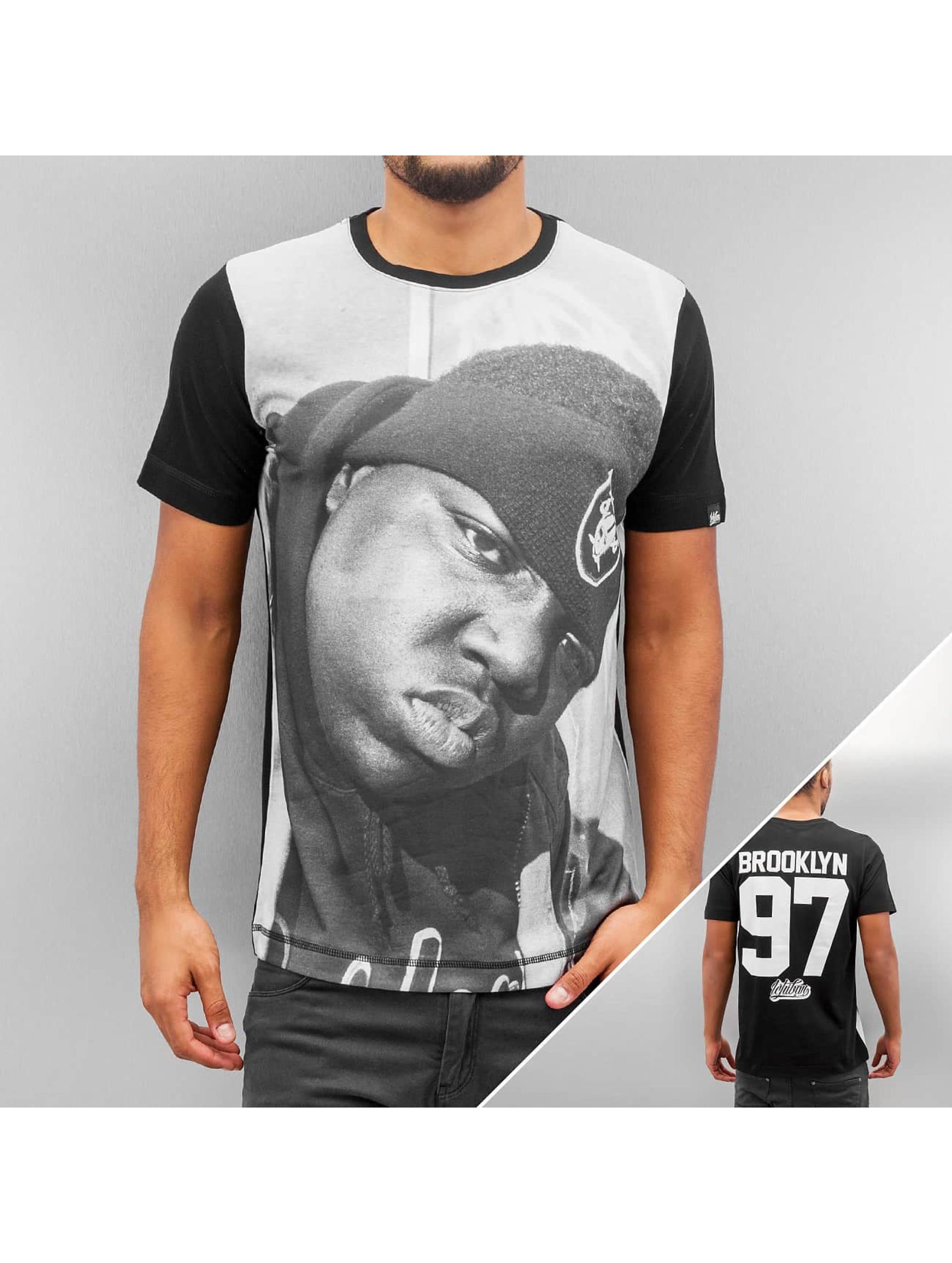 T-Shirt Brooklyn 97 in schwarz