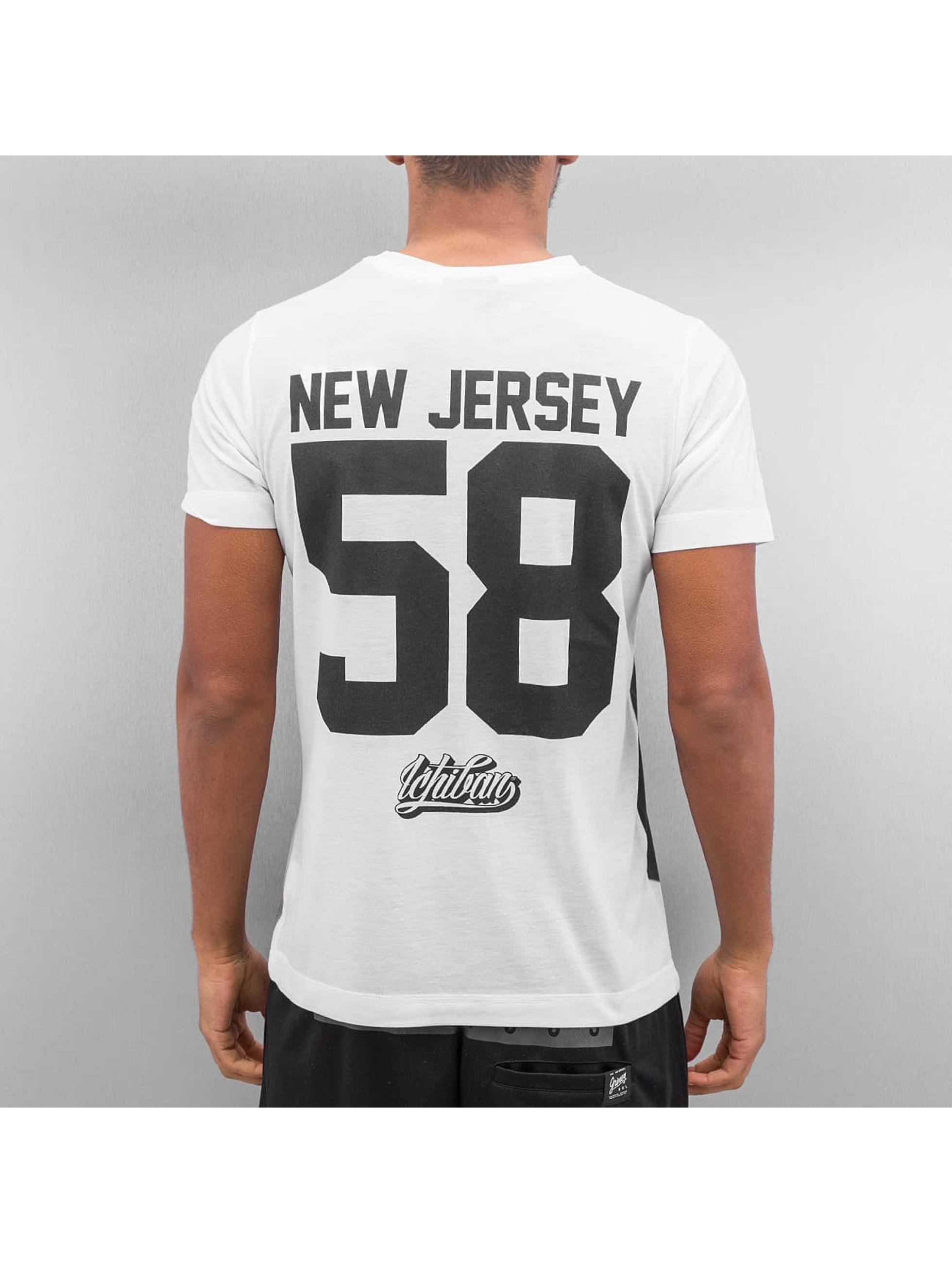 Ichiban T-Shirt Hip Hop New Jersey 58 weiß