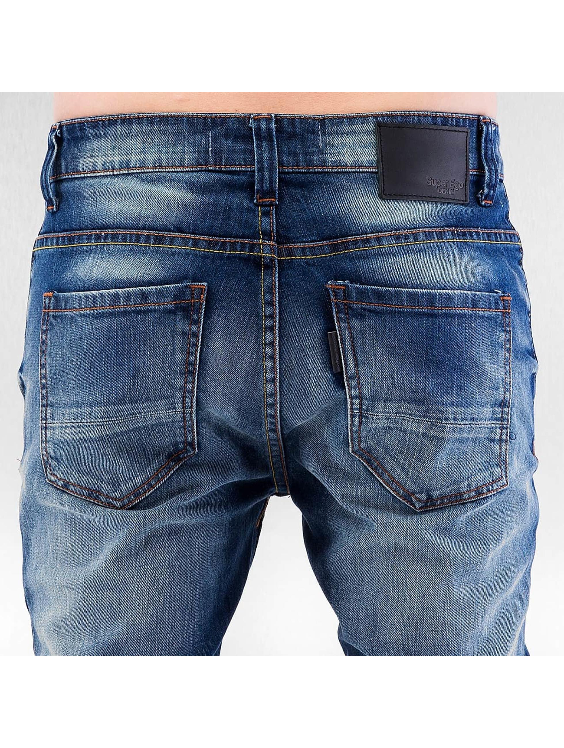 ID Denim Облегающие джинсы Astana синий