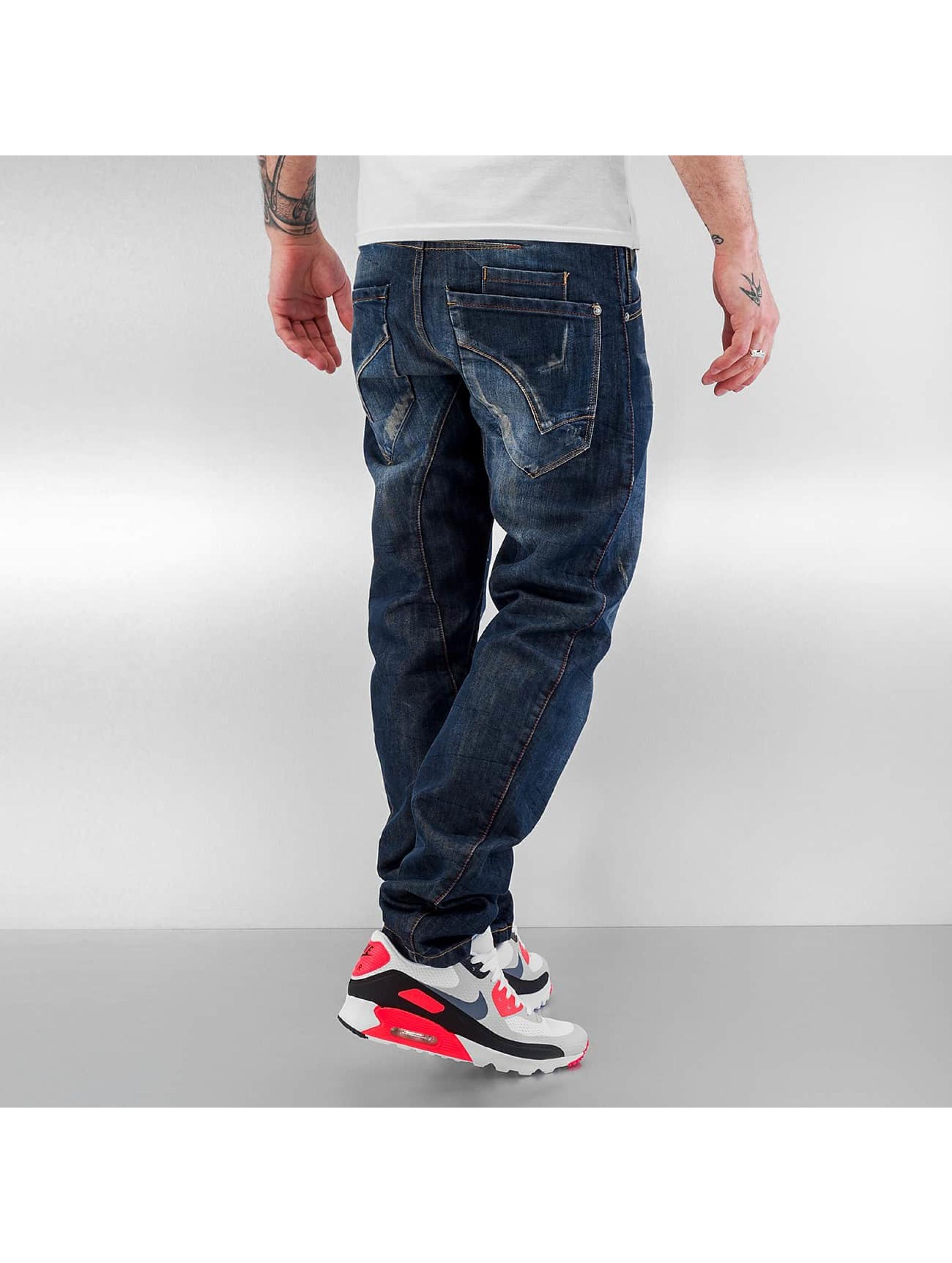 ID Denim Antifit jeans Fargo blå