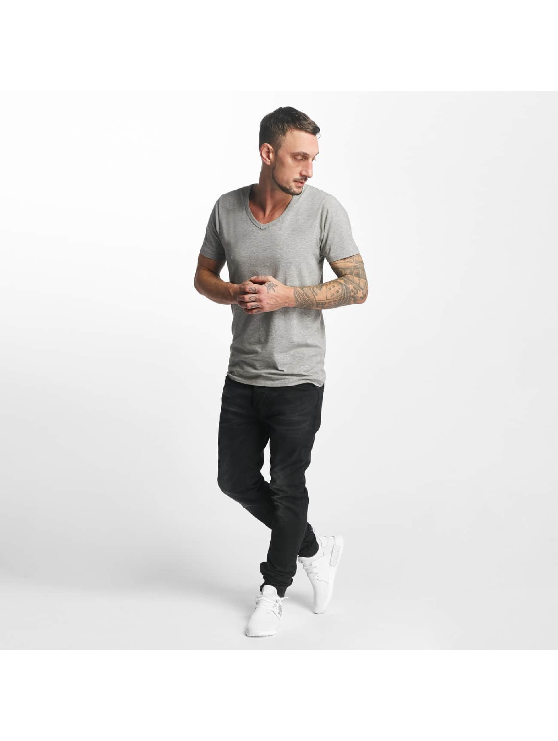 ID Denim Dżinsy straight fit Skinny Low Rise Tapered Leg czarny