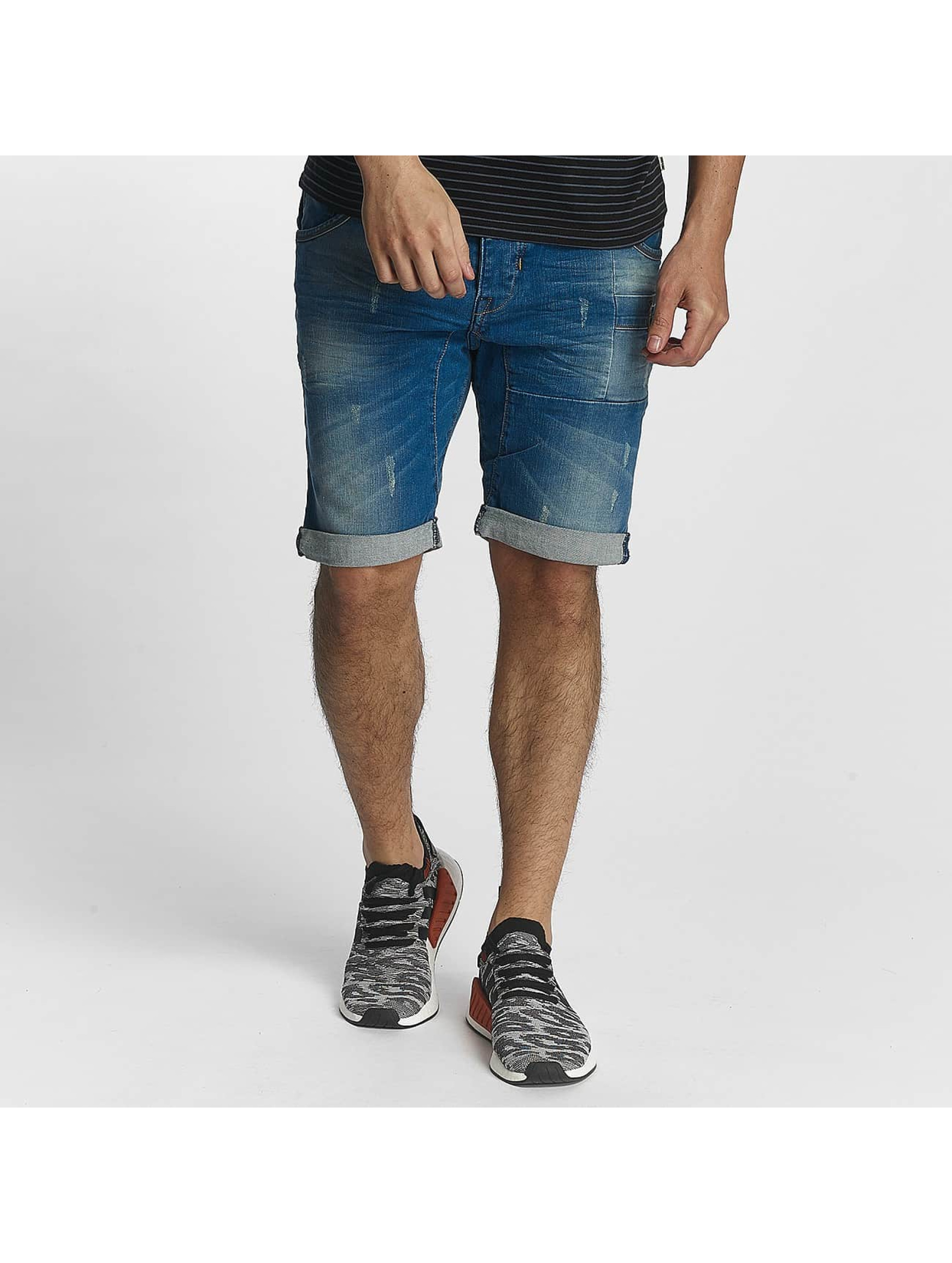 ID Denim Short Heat blue