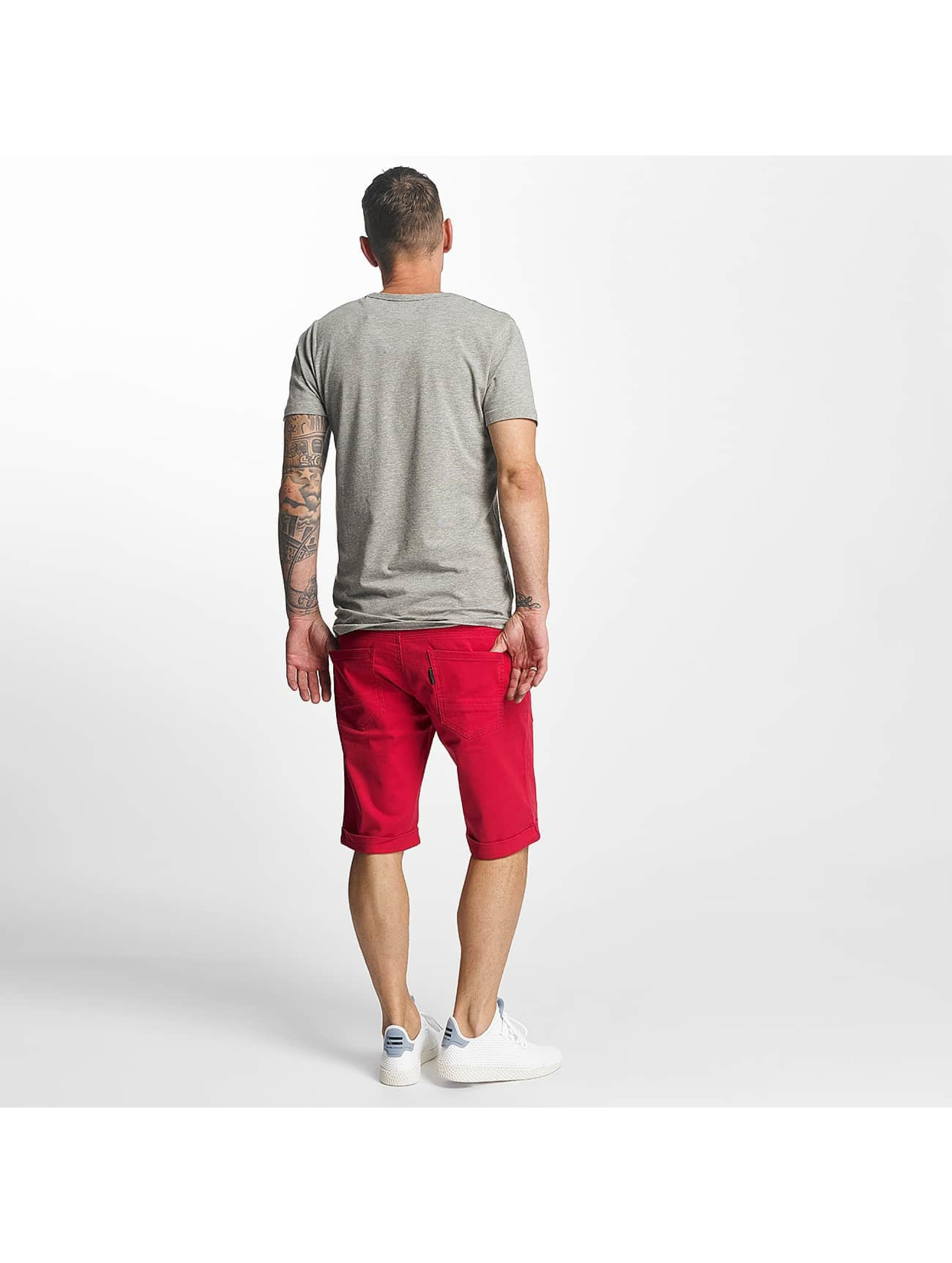 ID Denim Shorts Twill red