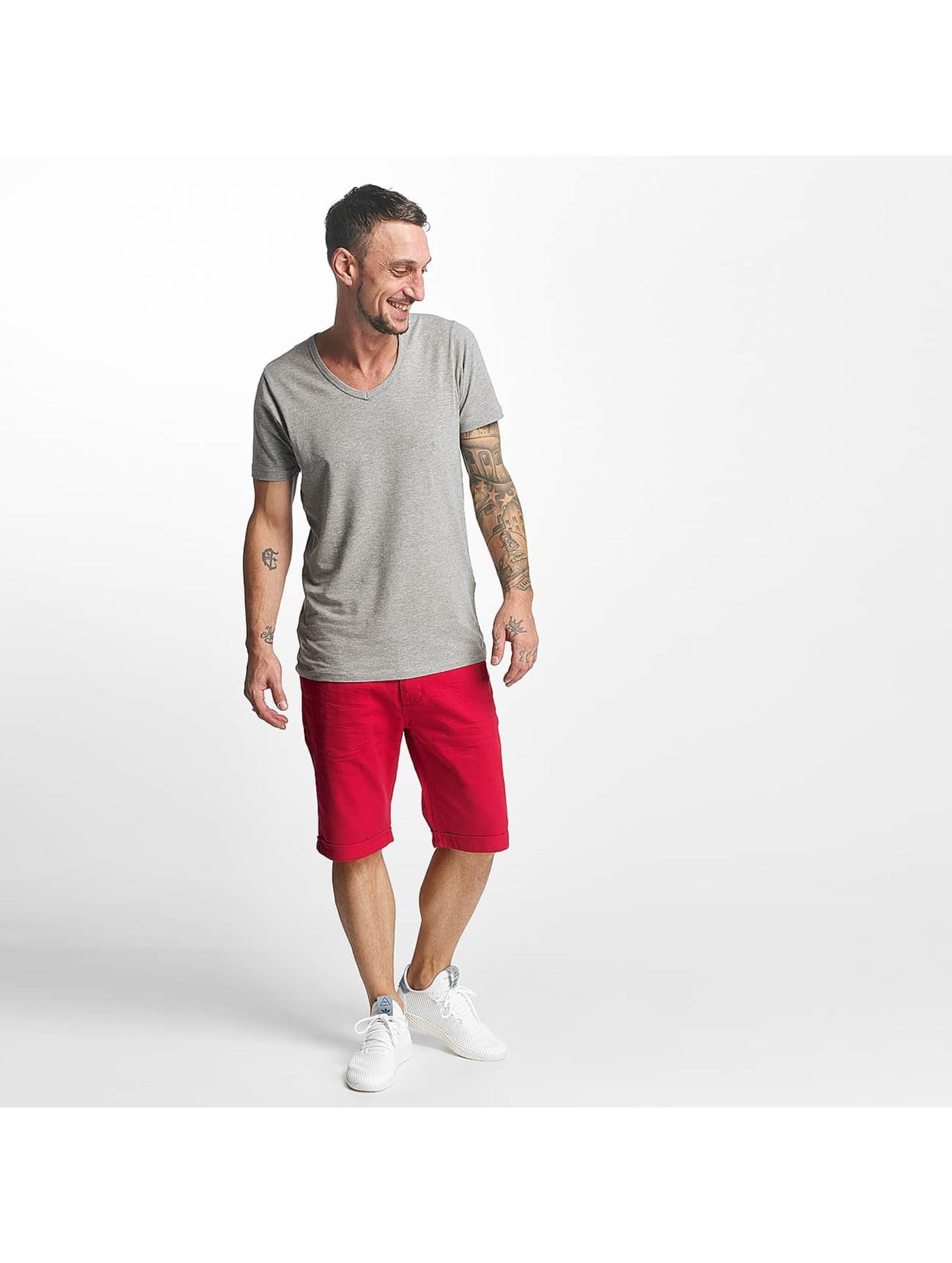 ID Denim shorts Twill rood