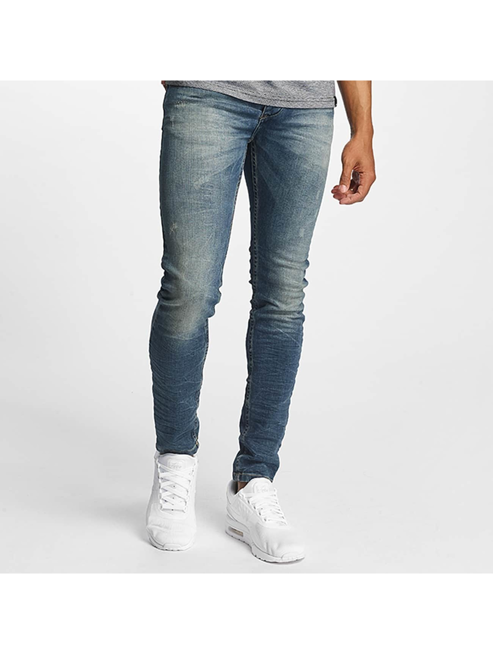 ID Denim Slim Fit Jeans Manoa blå