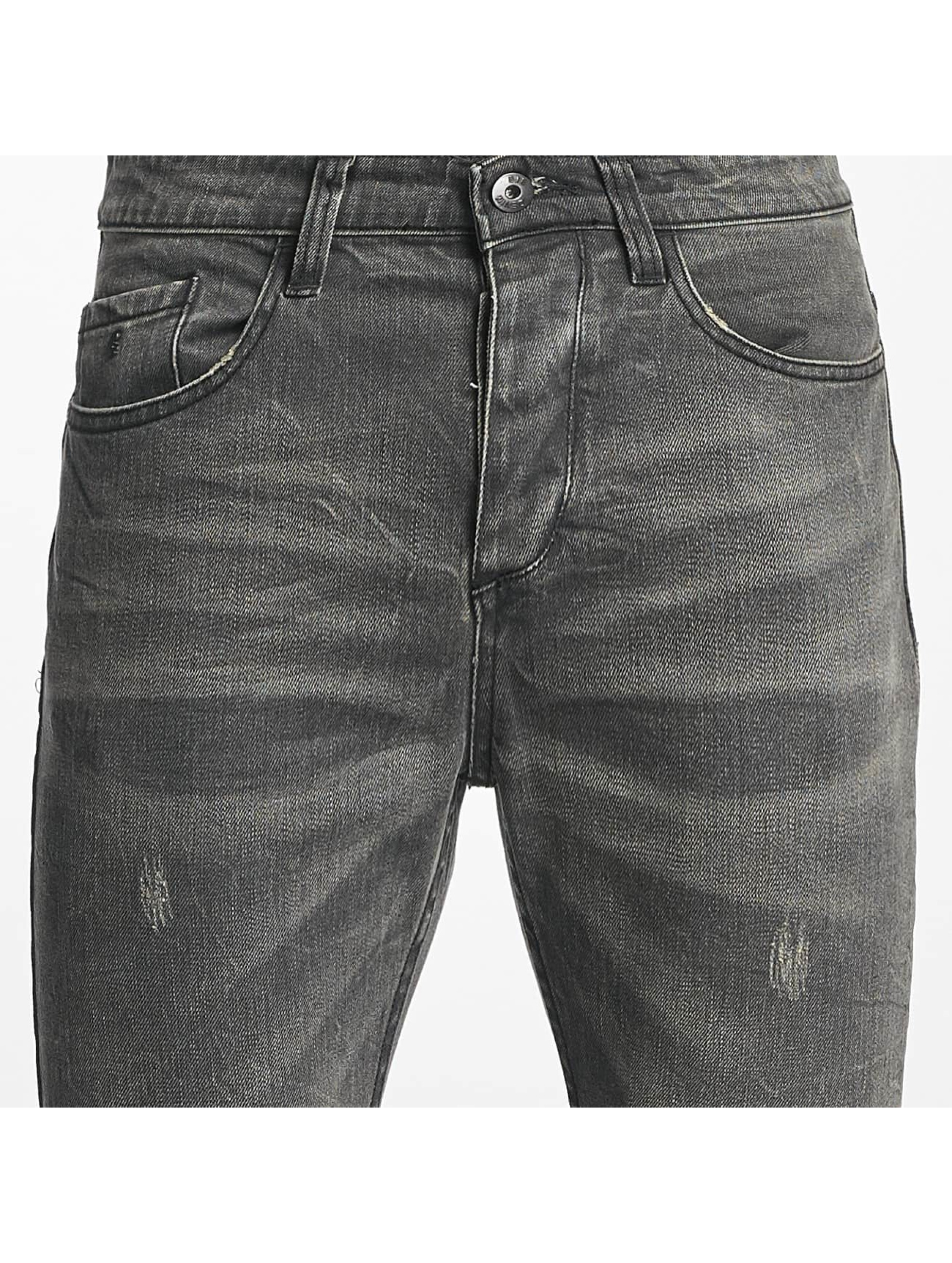 ID Denim Slim Fit Jeans Manuel grå