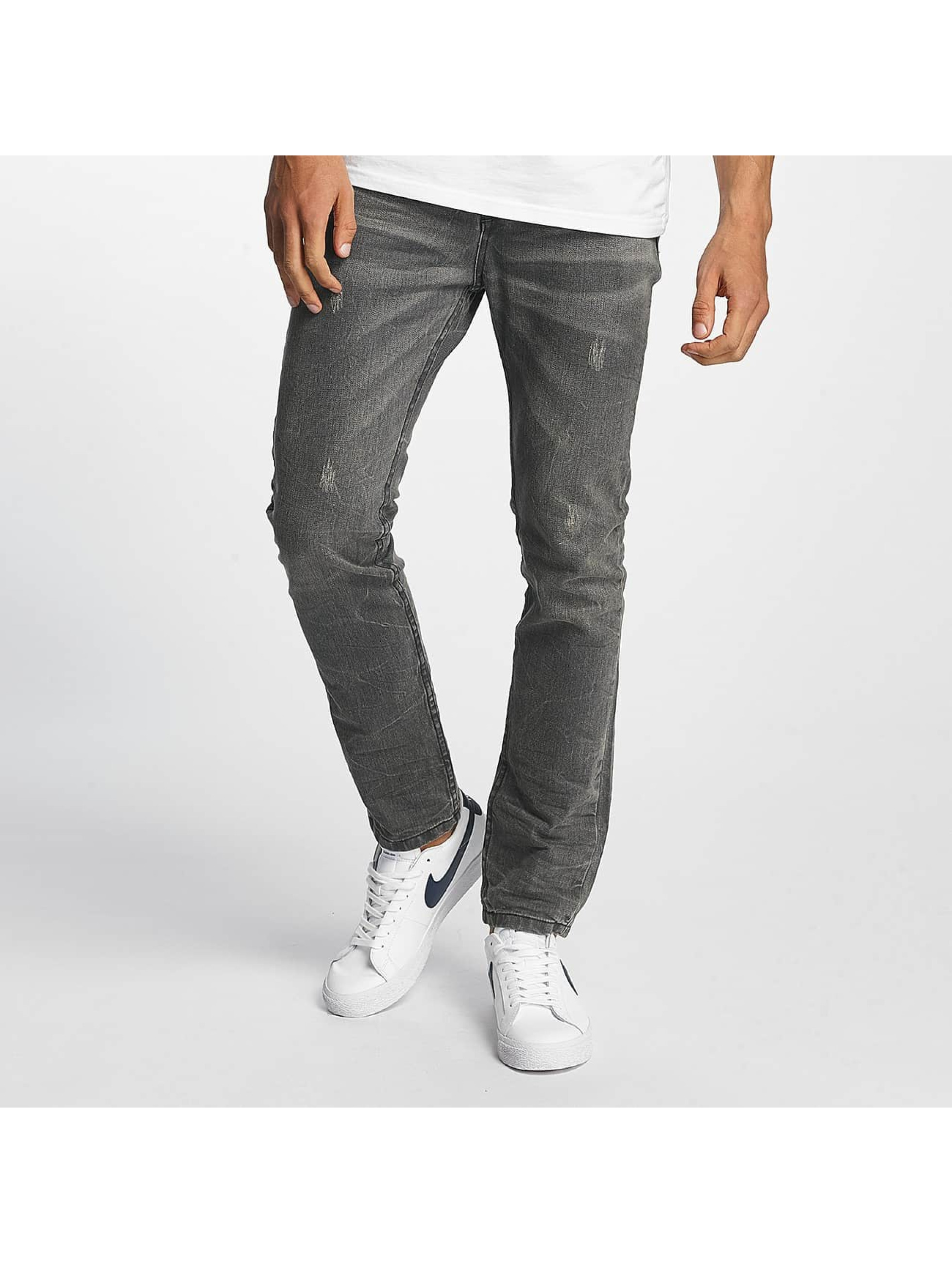 ID Denim Slim Fit Jeans Manuel grau