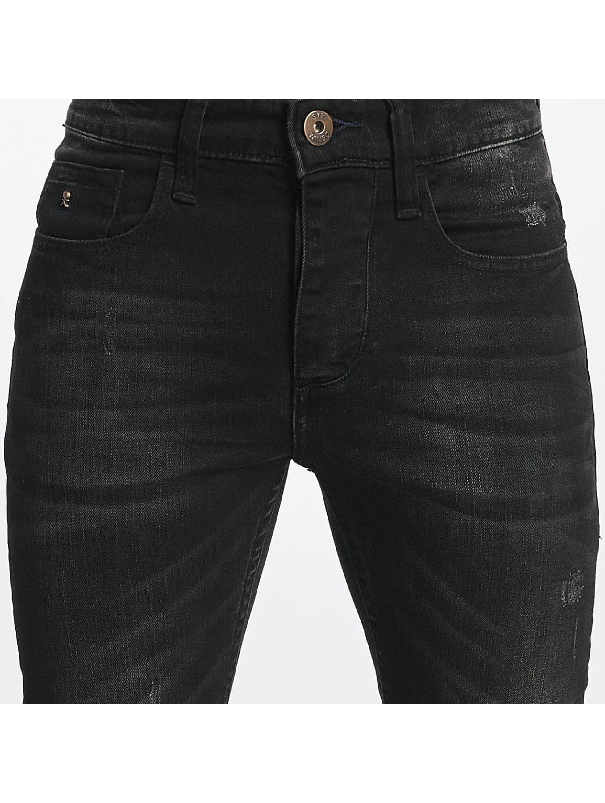 ID Denim Slim Fit Jeans Kula svart