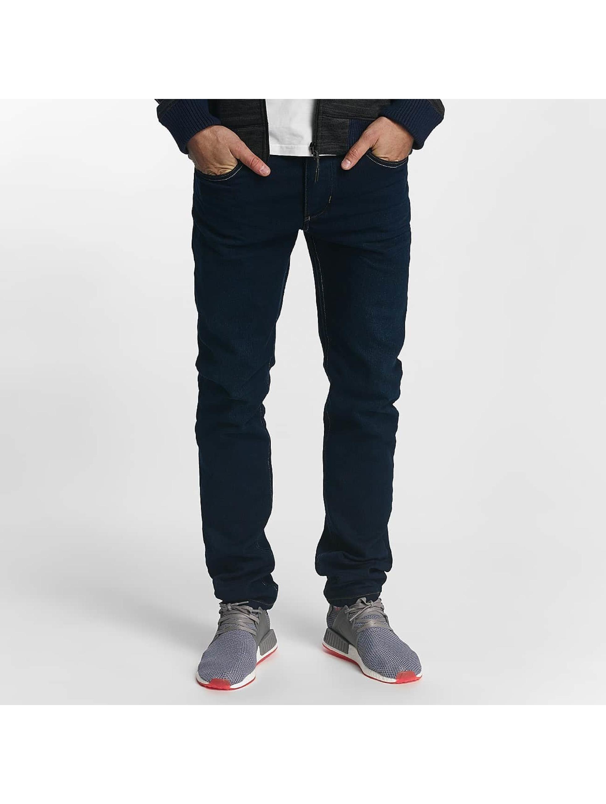 ID Denim Straight Fit Jeans Jonas blå
