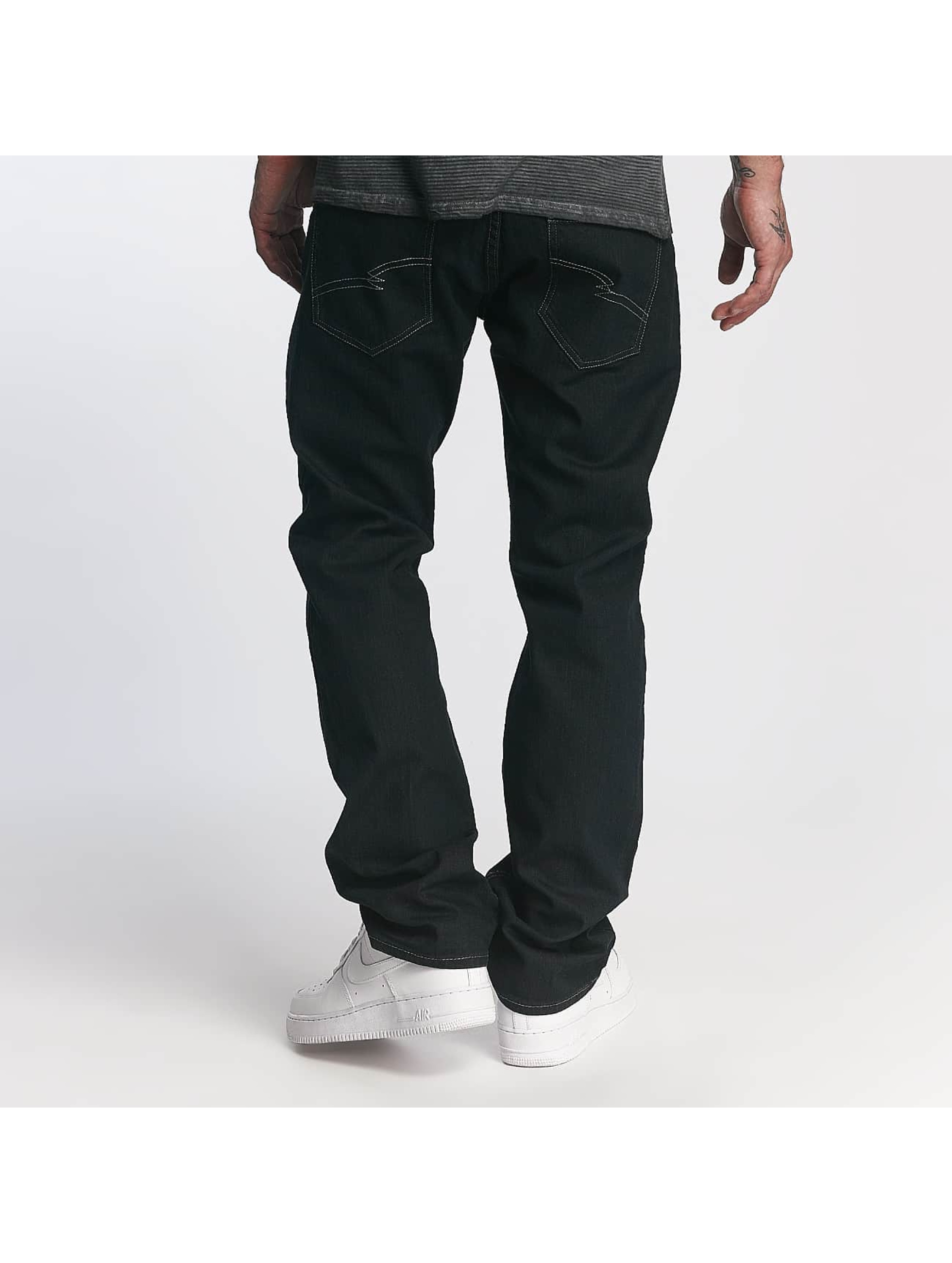 ID Denim Straight Fit Jeans Five blå