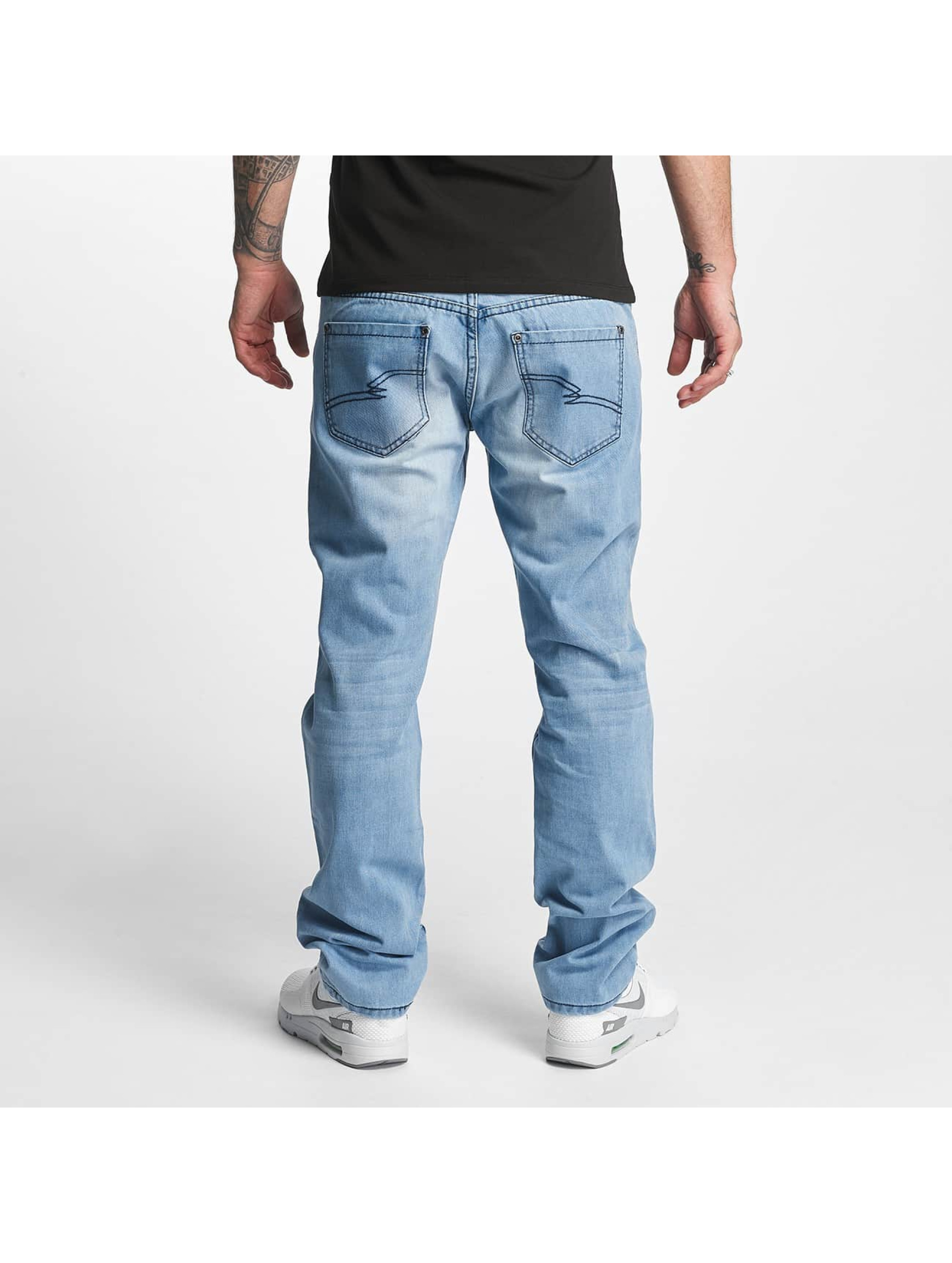 ID Denim Straight Fit Jeans Jakes blå