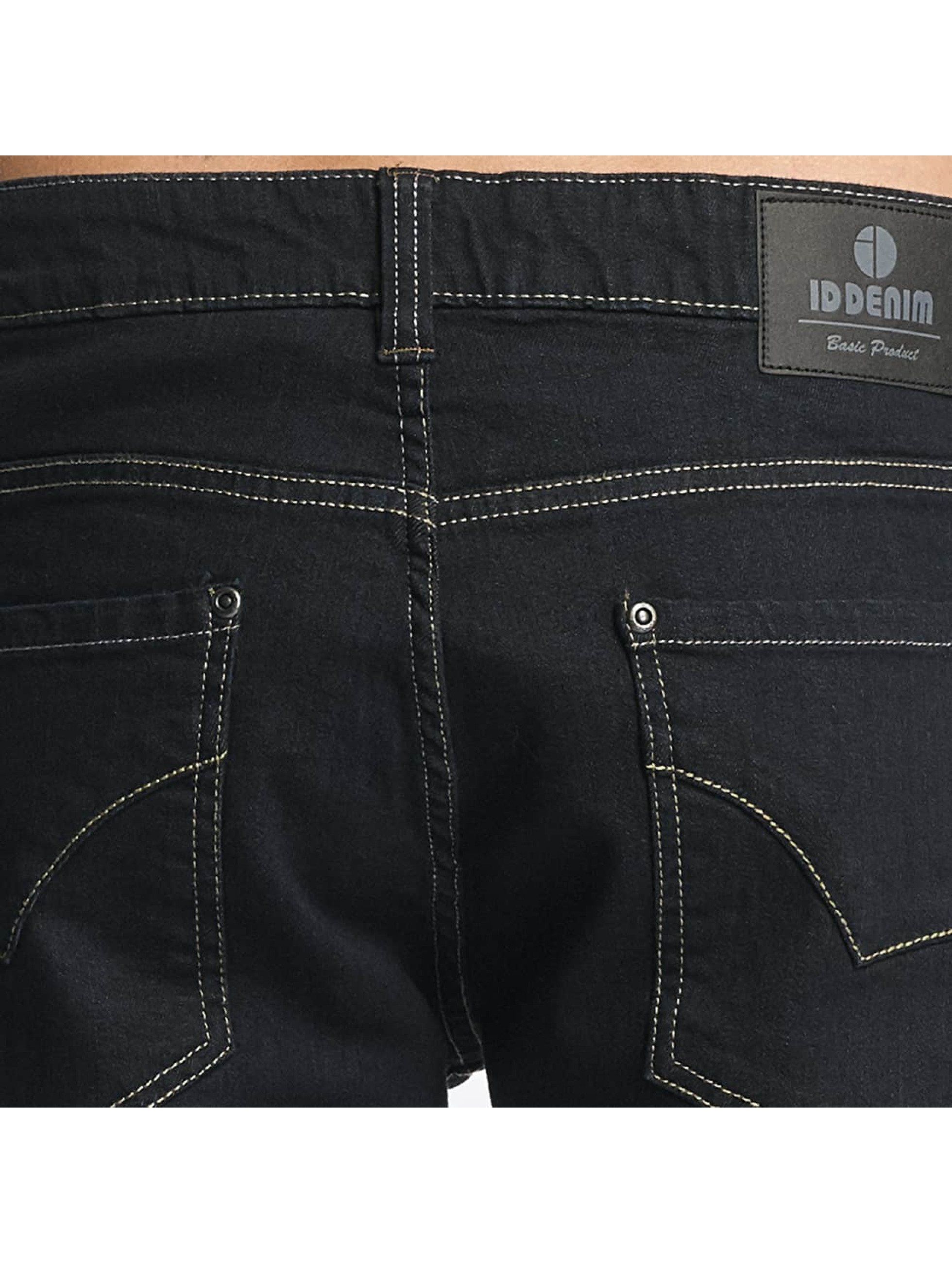 ID Denim Straight Fit Jeans Basic blå