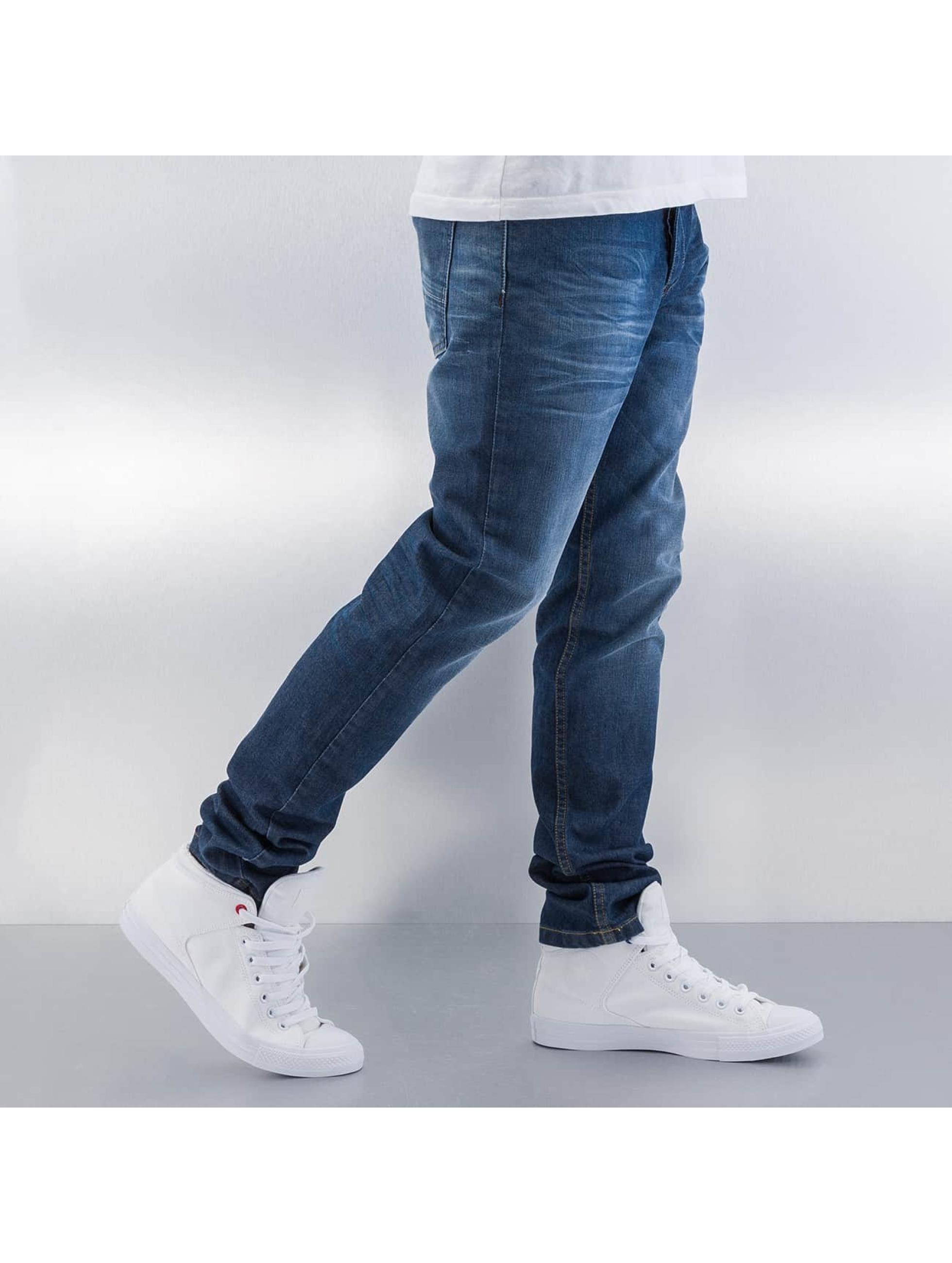 ID Denim Straight Fit Jeans Regular blau