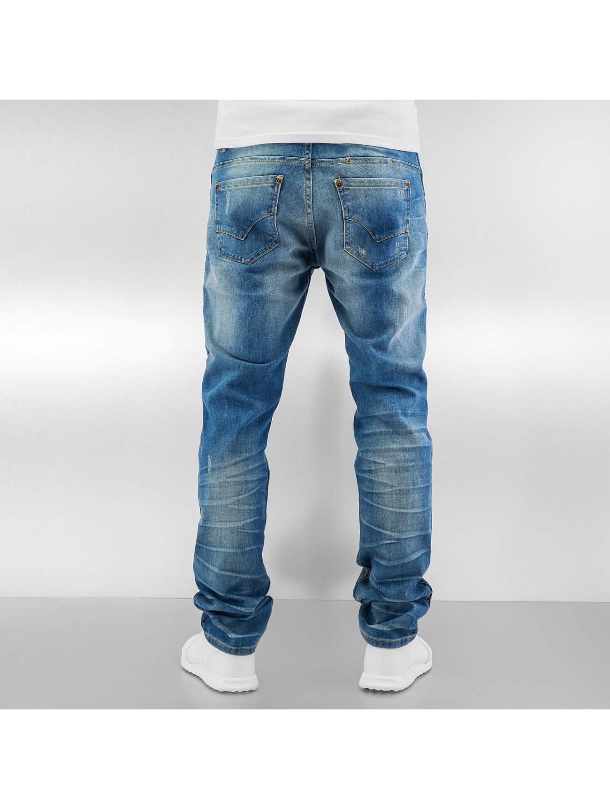 ID Denim Straight fit jeans Zack blauw