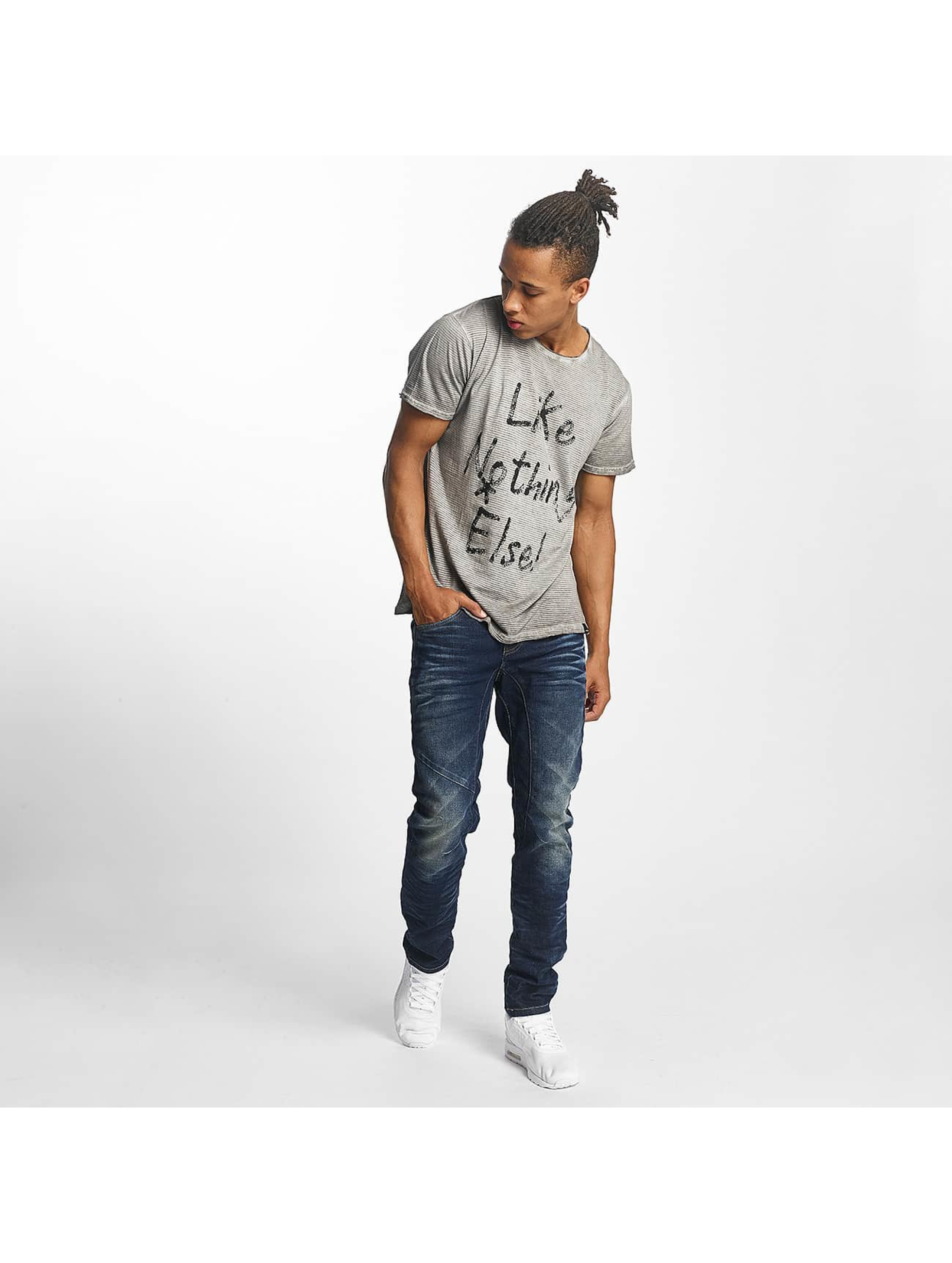 ID Denim Straight fit jeans Five blauw