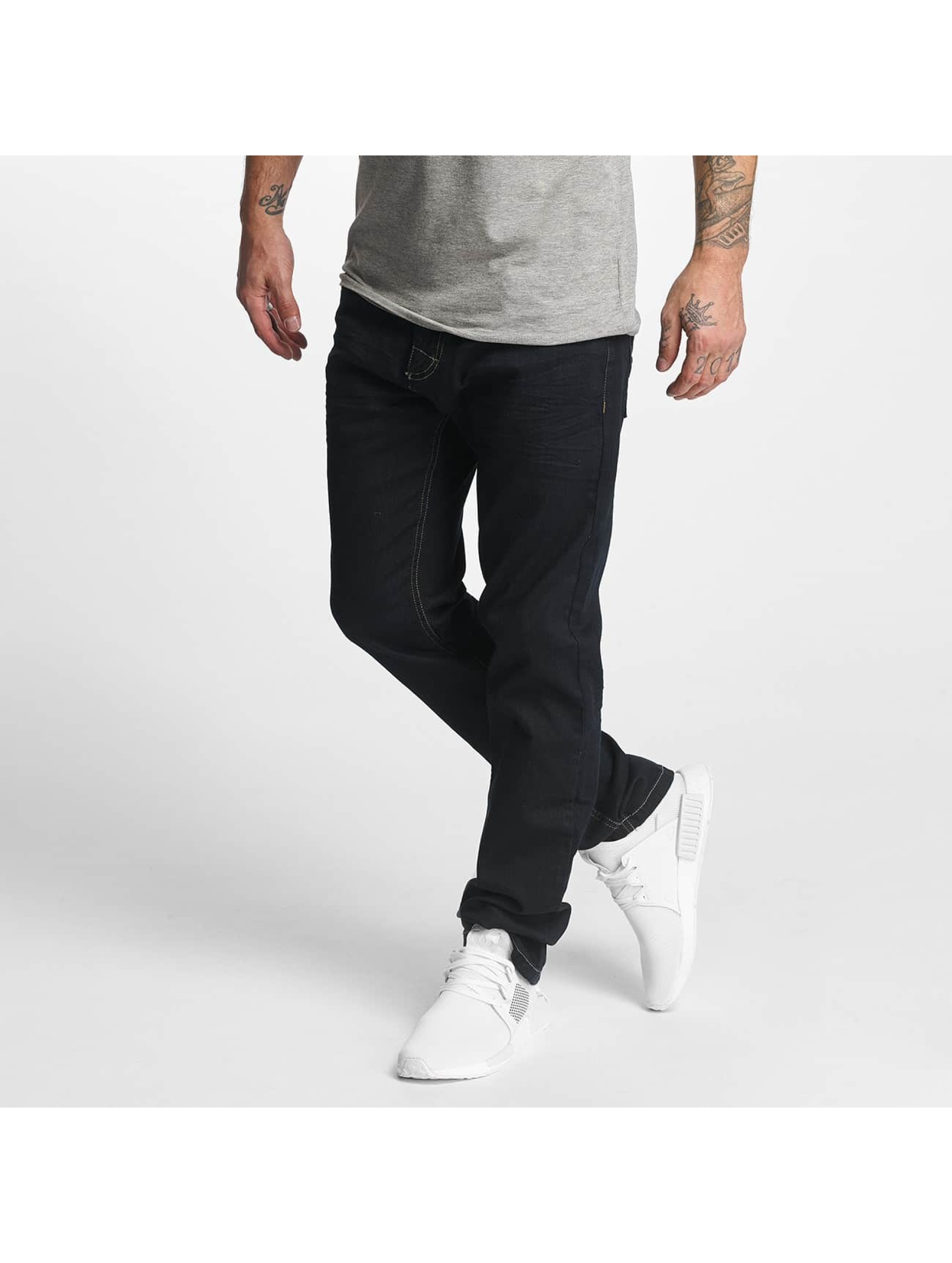 ID Denim Straight fit jeans Basic blauw