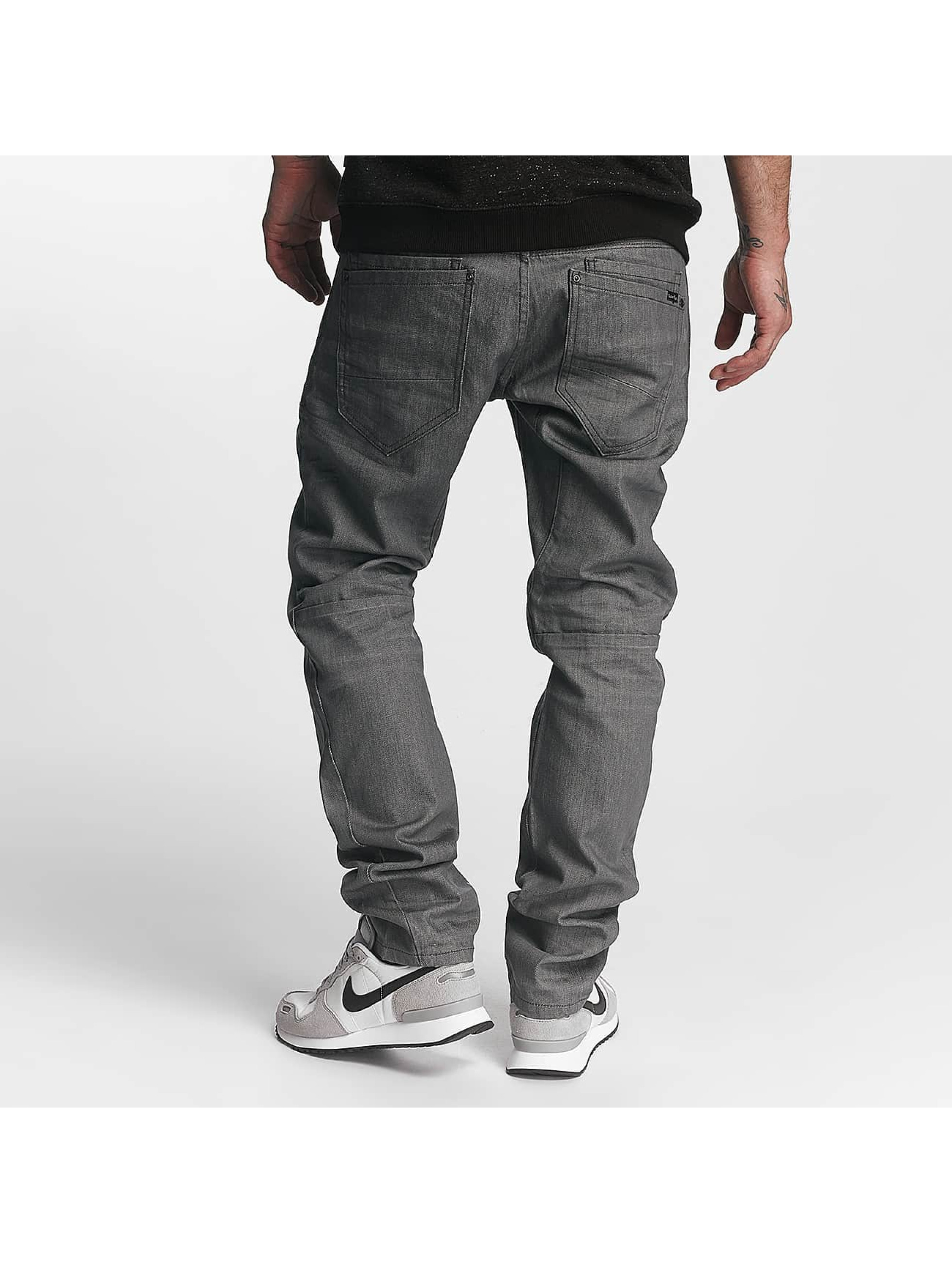 ID Denim Straight Fit Jeans Straight grå