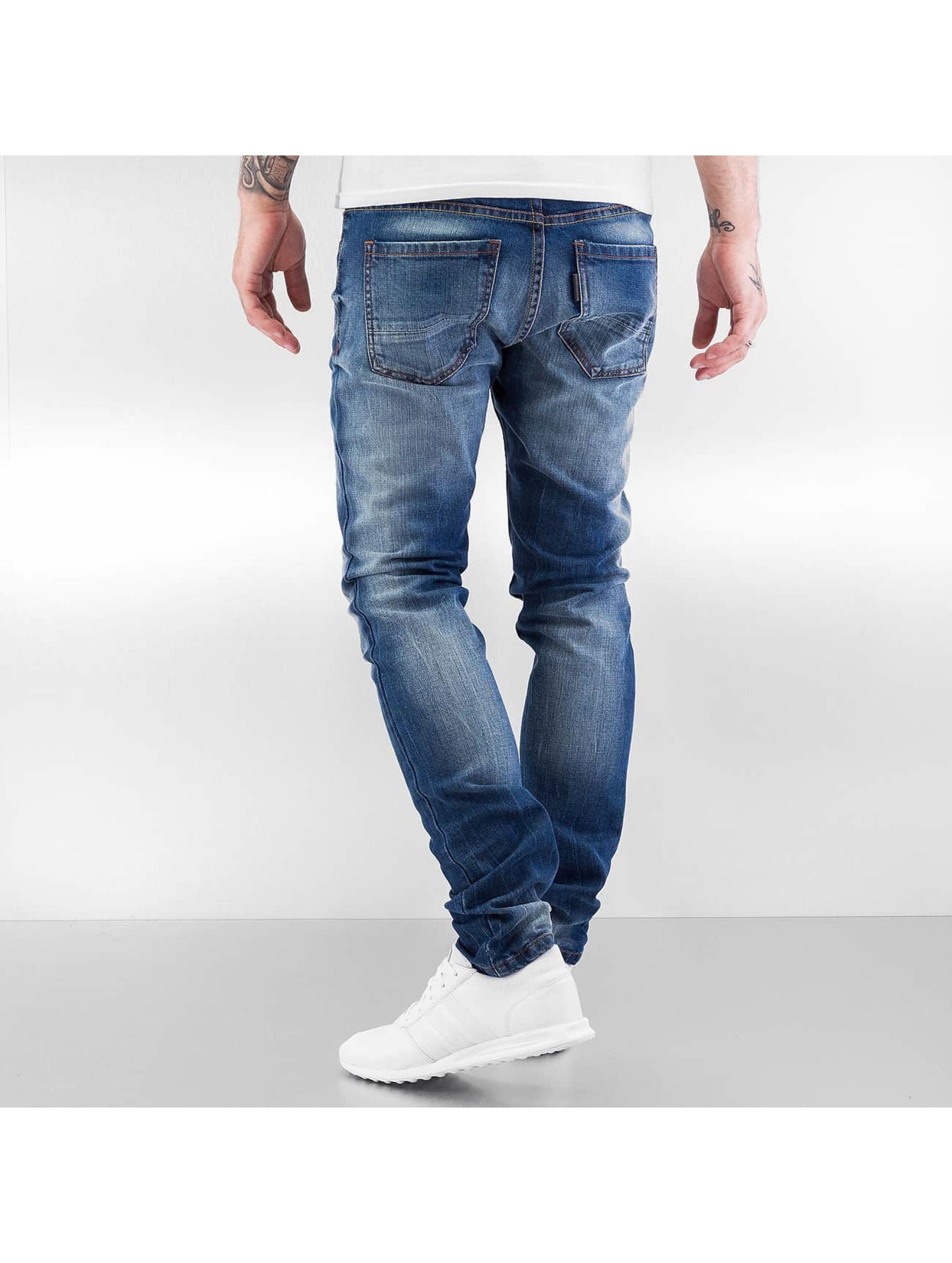 ID Denim Tynne bukser Astana blå