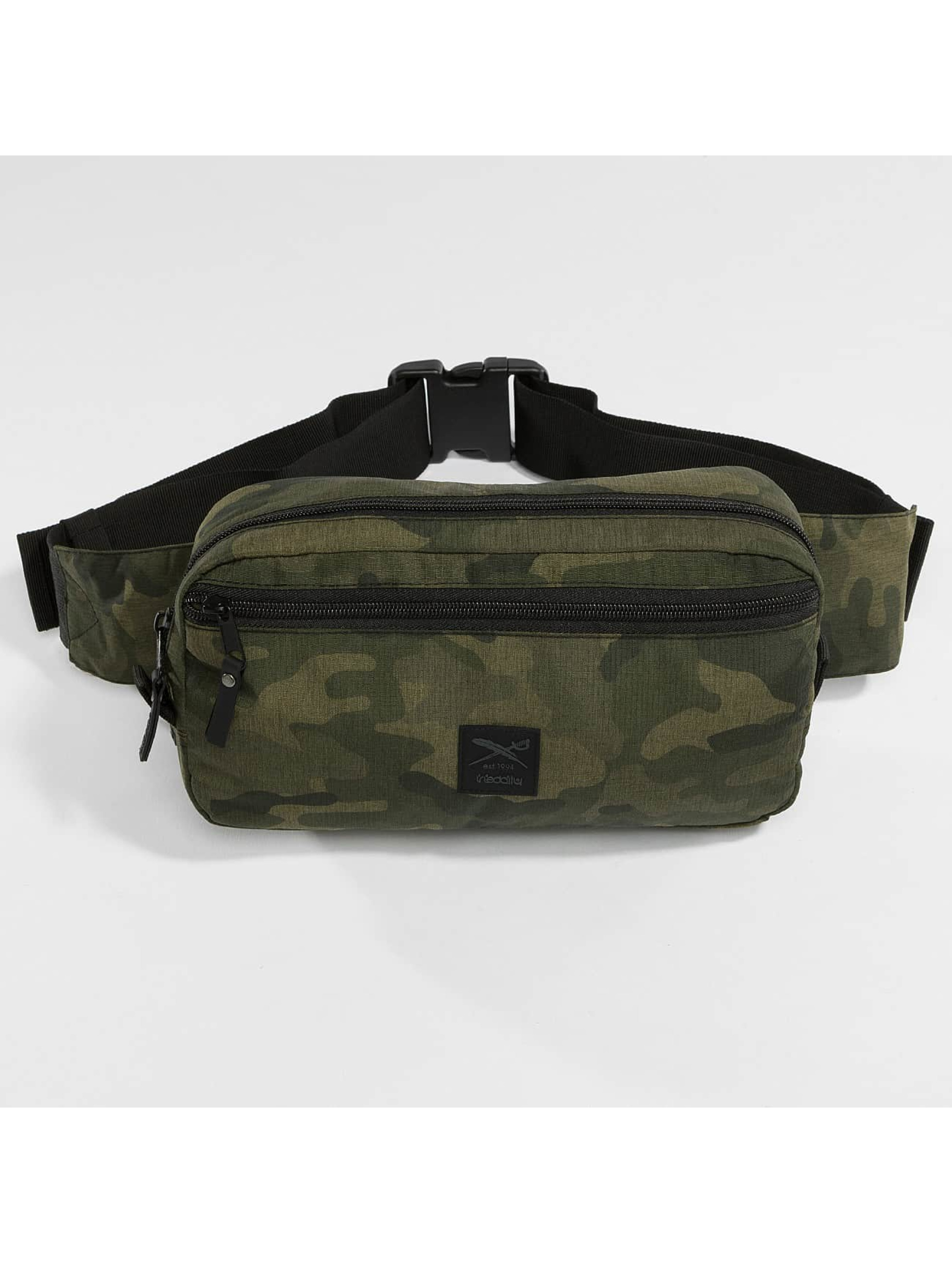 Iriedaily Tasche Gridstop camouflage