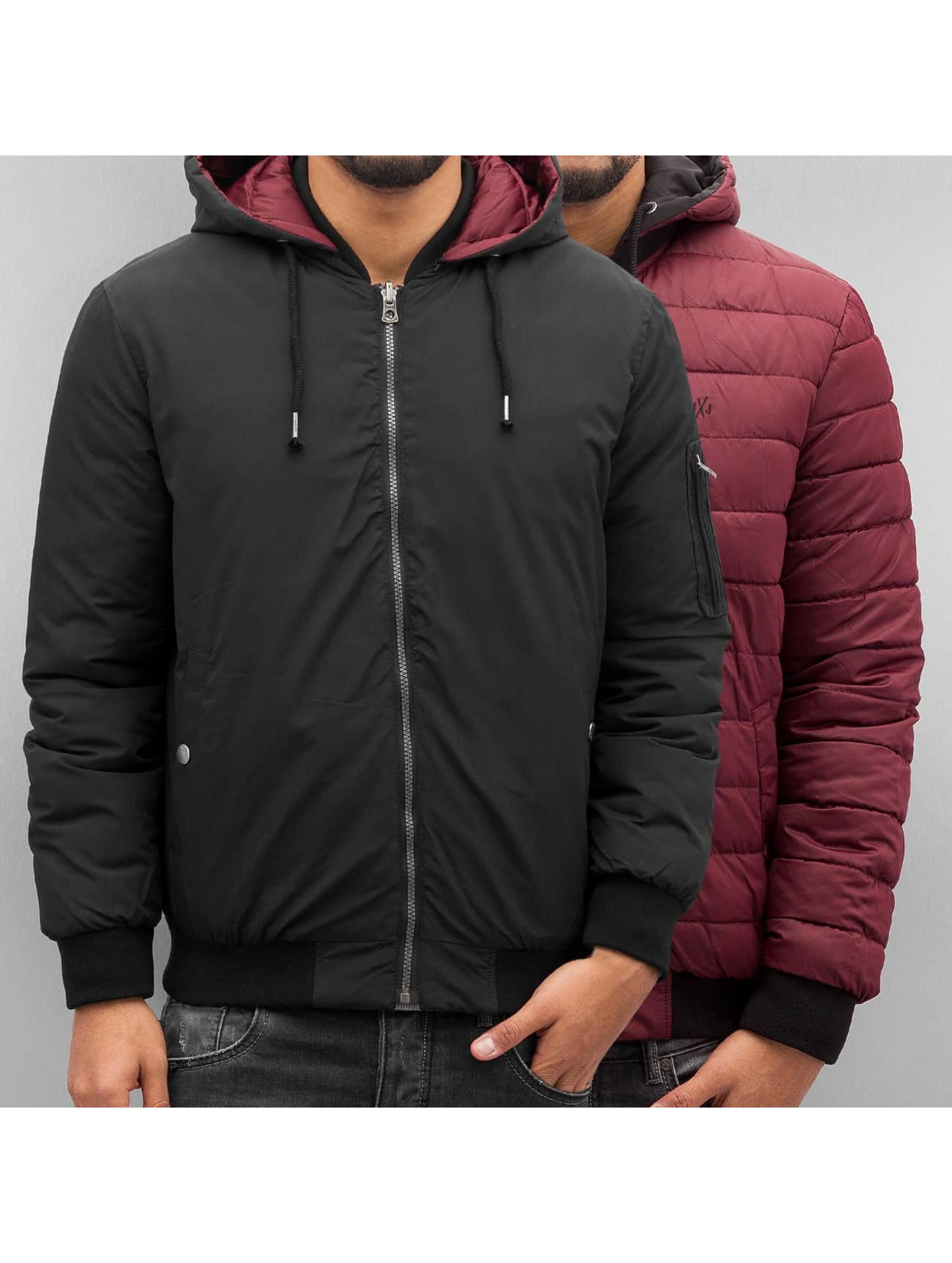 Jack & Jones Демисезонная куртка jorBeck черный