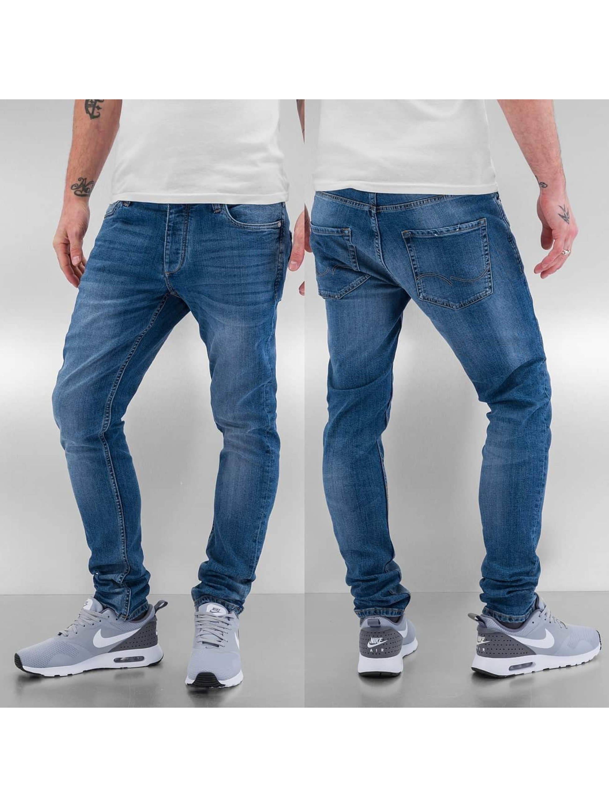 Jack & Jones Облегающие джинсы jjiTim синий