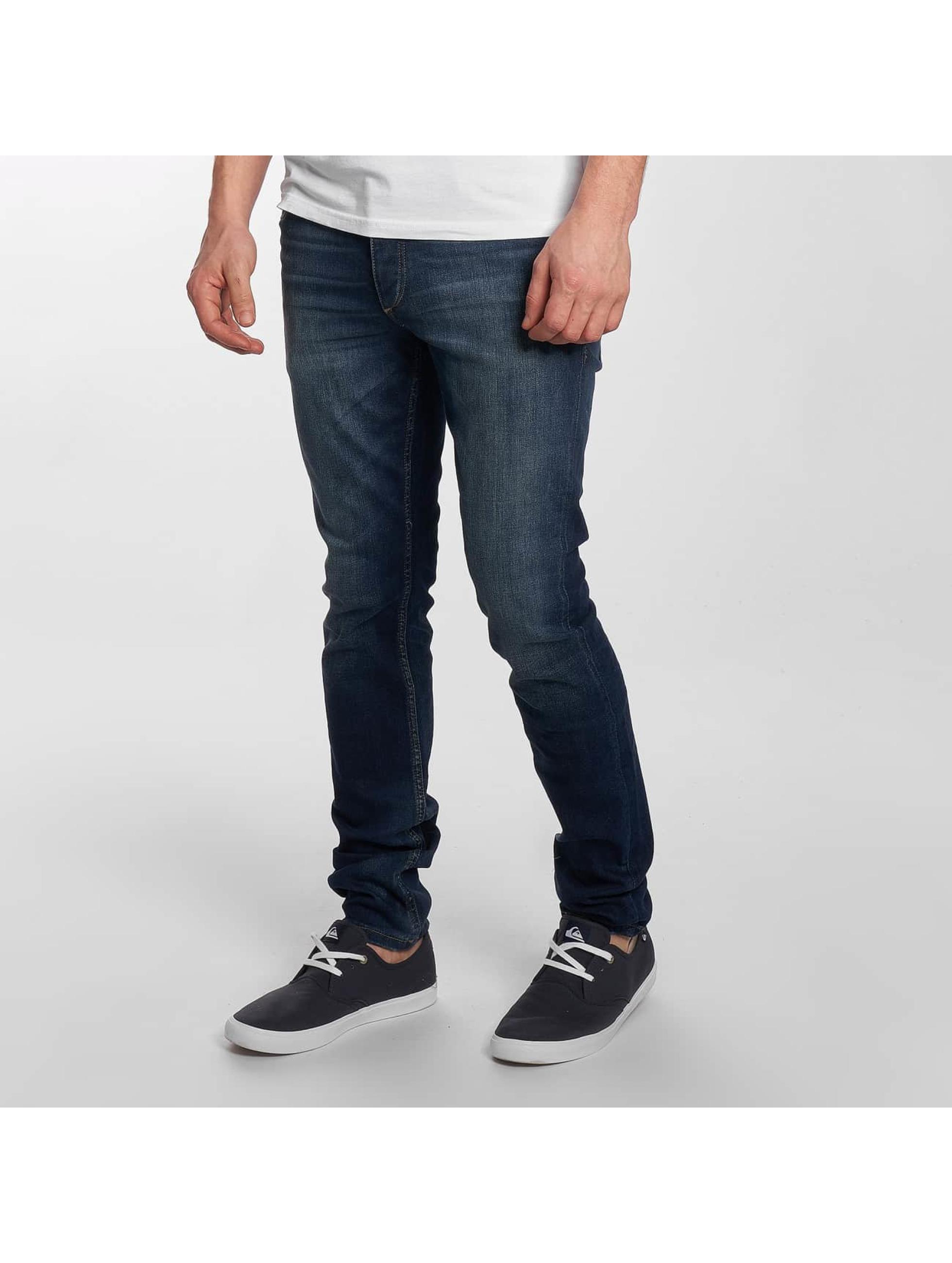 Jack & Jones Облегающие джинсы jjTIM синий