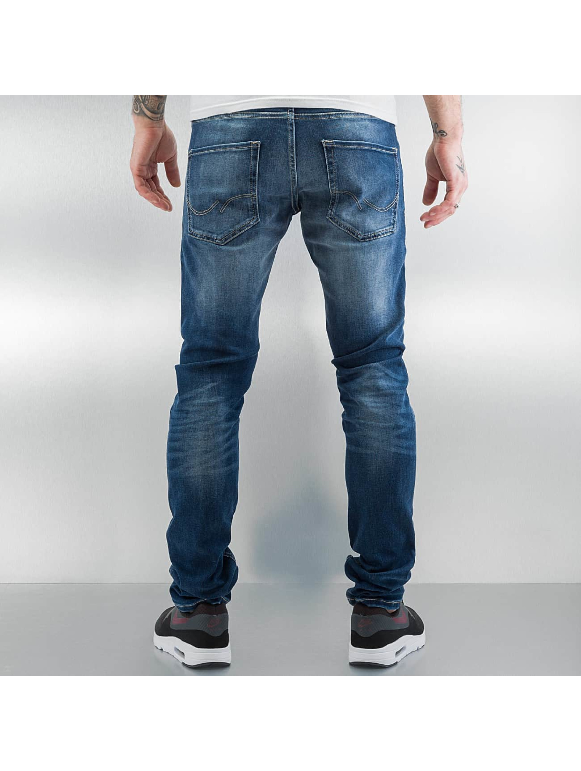 Jack & Jones Облегающие джинсы jjIglenn синий