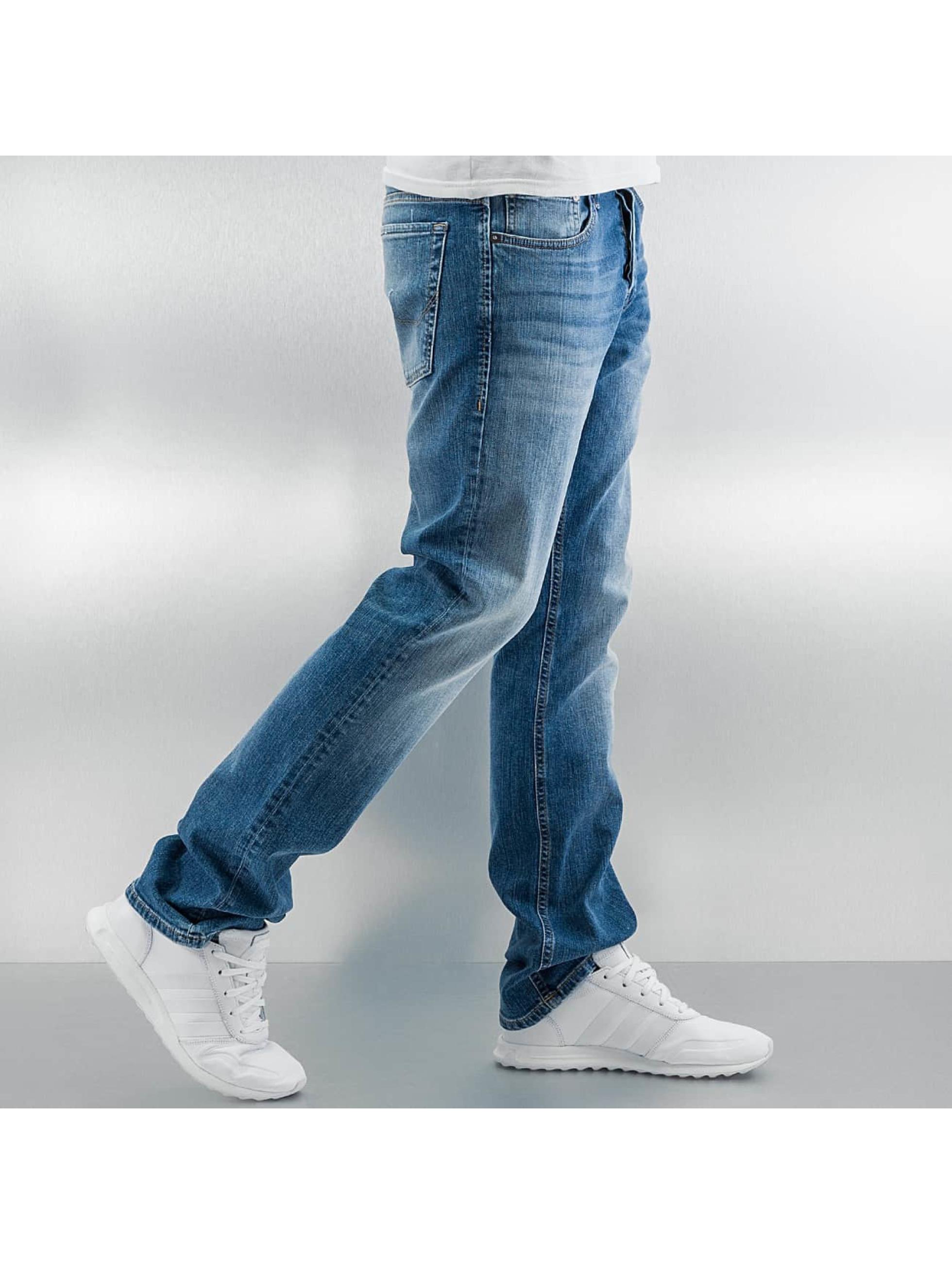 Jack & Jones Облегающие джинсы jjiClark синий
